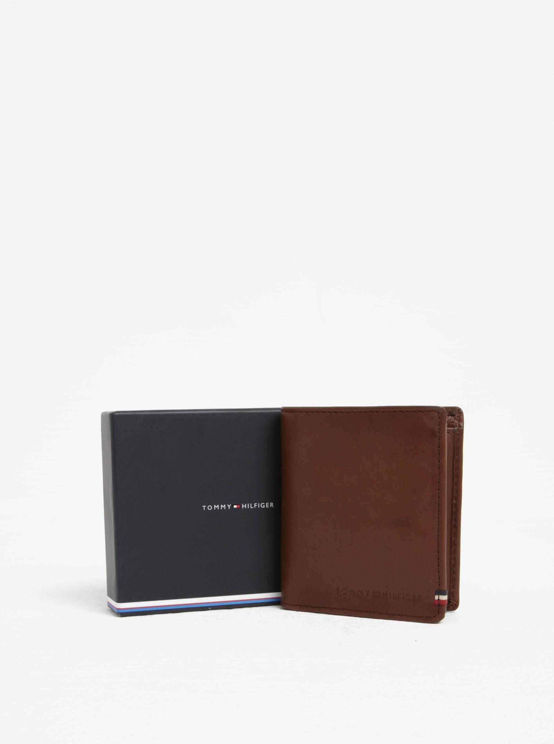 Hnedá pánska kožená peňaženka Tommy Hilfiger II.  59ce206ea90