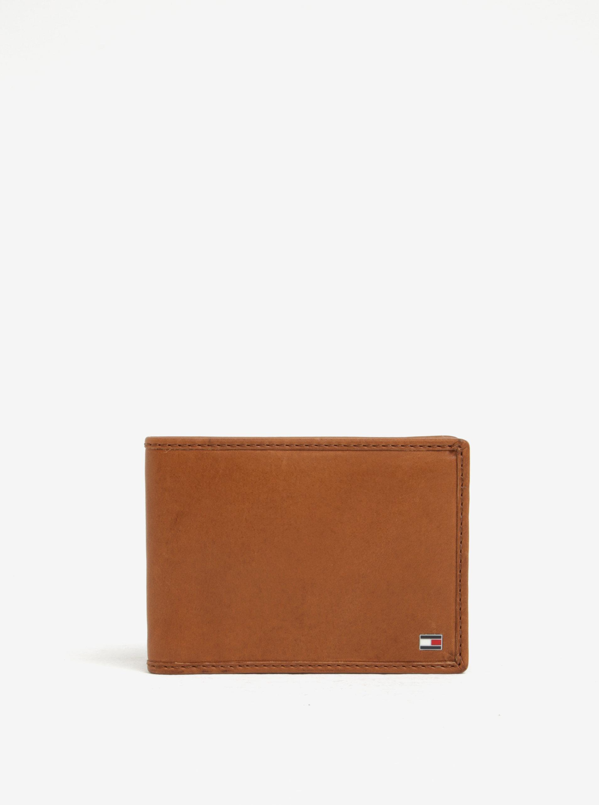 Hnedá pánska kožená peňaženka Tommy Hilfiger ... 50d39f223b9