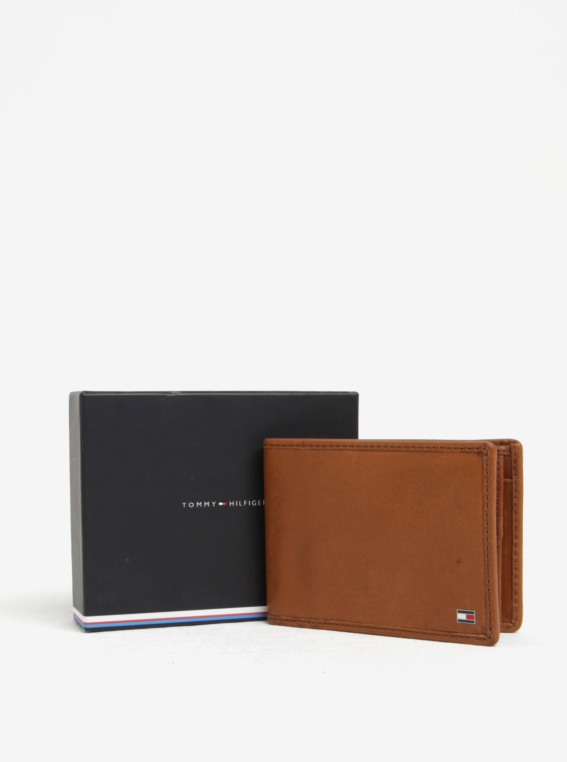 Hnedá pánska kožená peňaženka Tommy Hilfiger ... 442243bf8bd