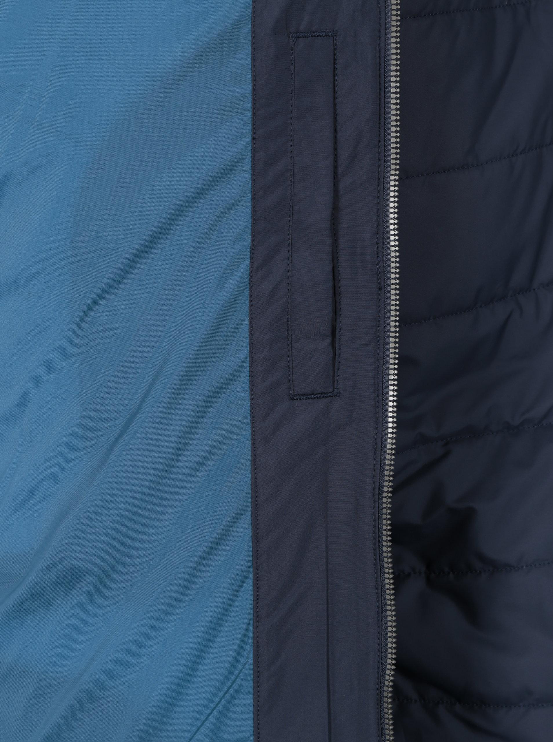 84c2a7b8f5 Tmavě modrá prošívaná vodoodpudivá bunda O Neill ...