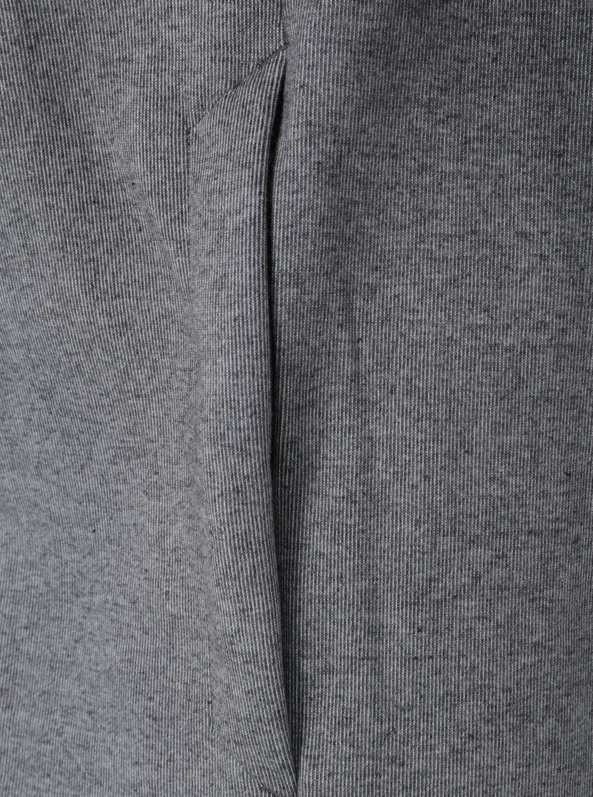 bceaa07f2a Čierno-sivá pánska mikina s kapucňou Nike NSW