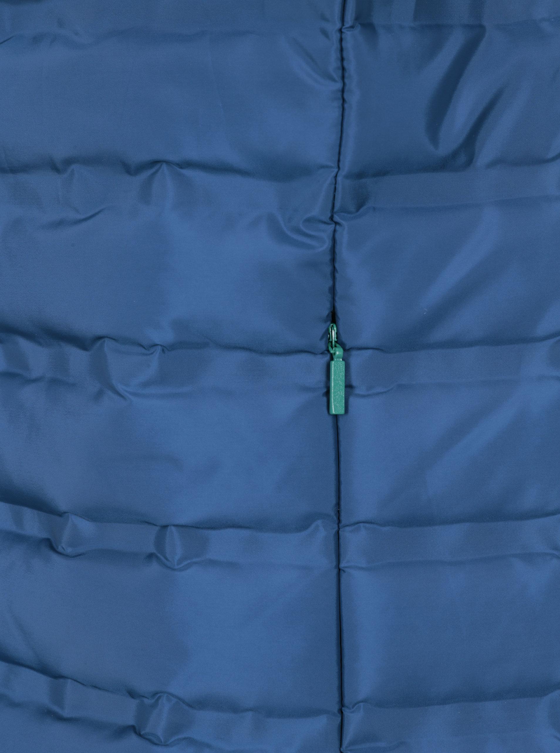 Modrá pánska vodovzdorná prešívaná vesta LOAP Itep ... cdf0cf496bd