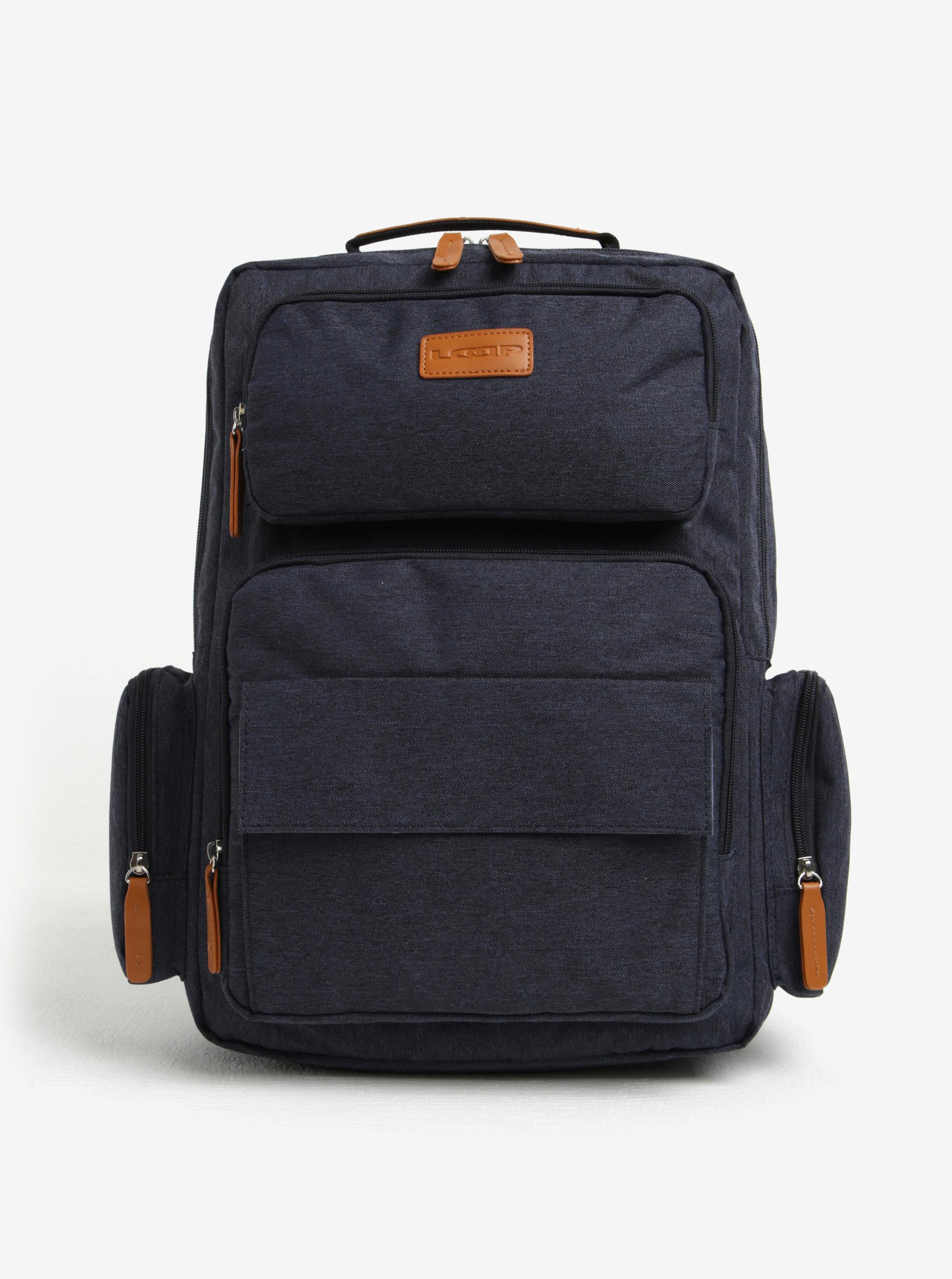 92f630f77a6 Tmavě modrý batoh LOAP Eos - SLEVA!