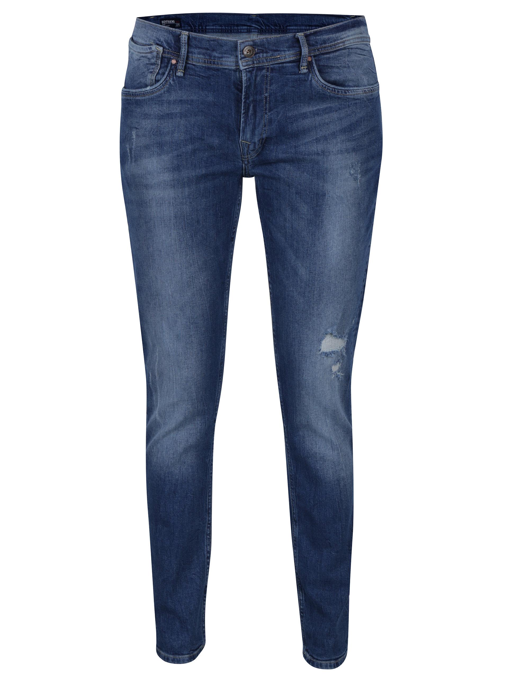 Modré dámské boyfriend džíny Pepe Jeans Joey ... 44ae2eaa0f