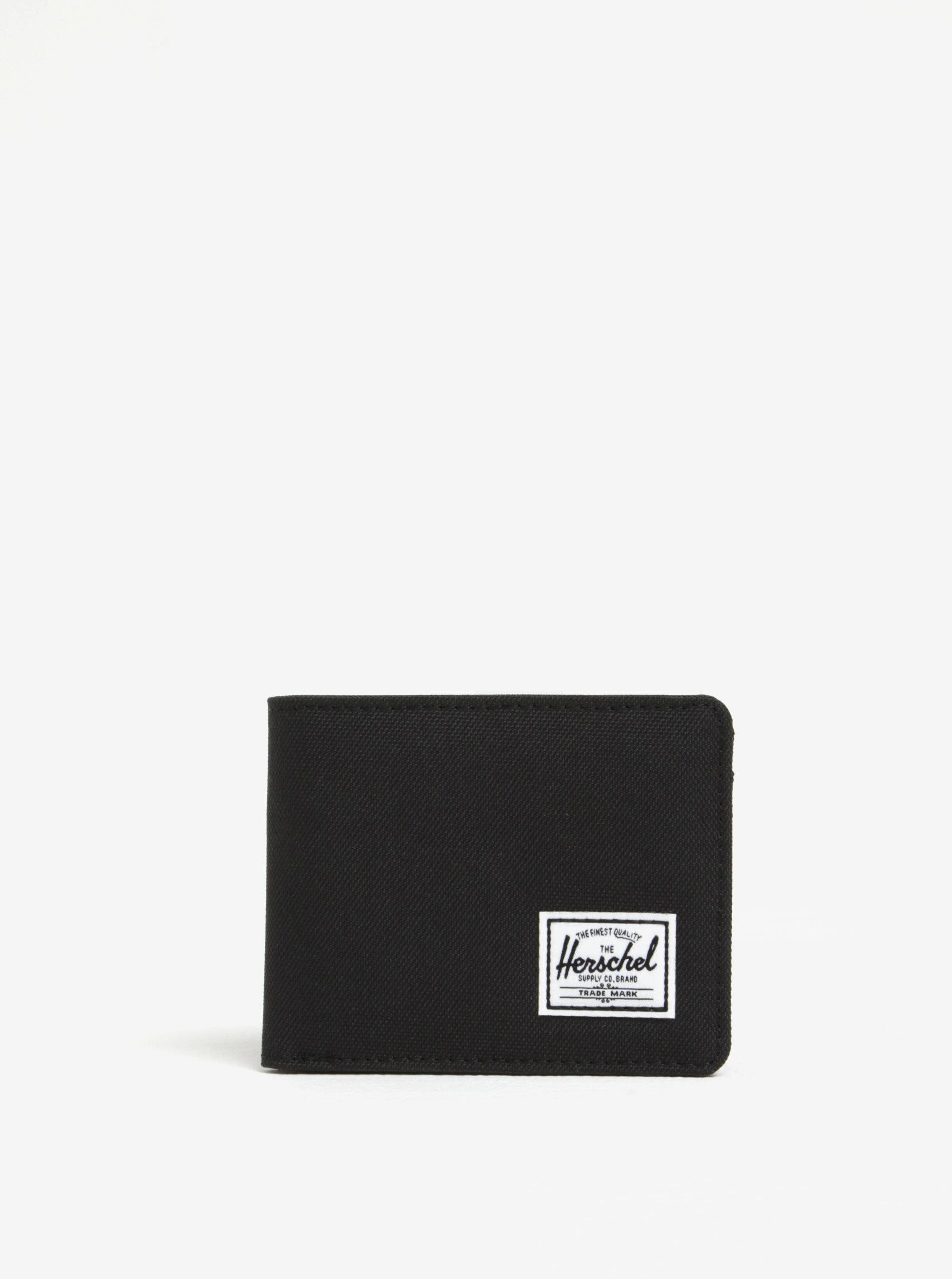 9f1b56d017 Čierna pánska peňaženka Herschel Roy ...
