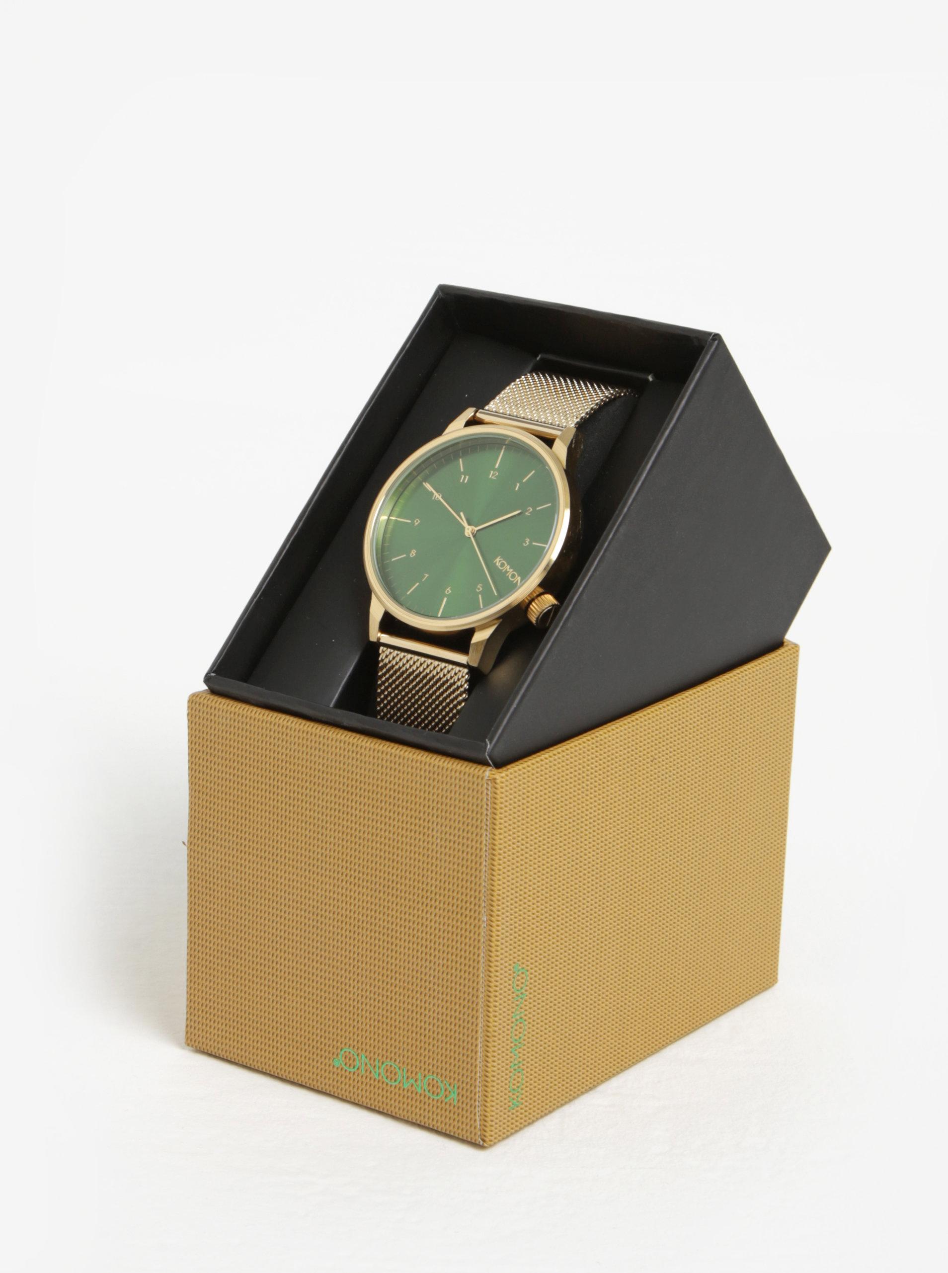 Unisex hodinky ve zlaté barvě Komono Winston Royale ... b386ba6d55
