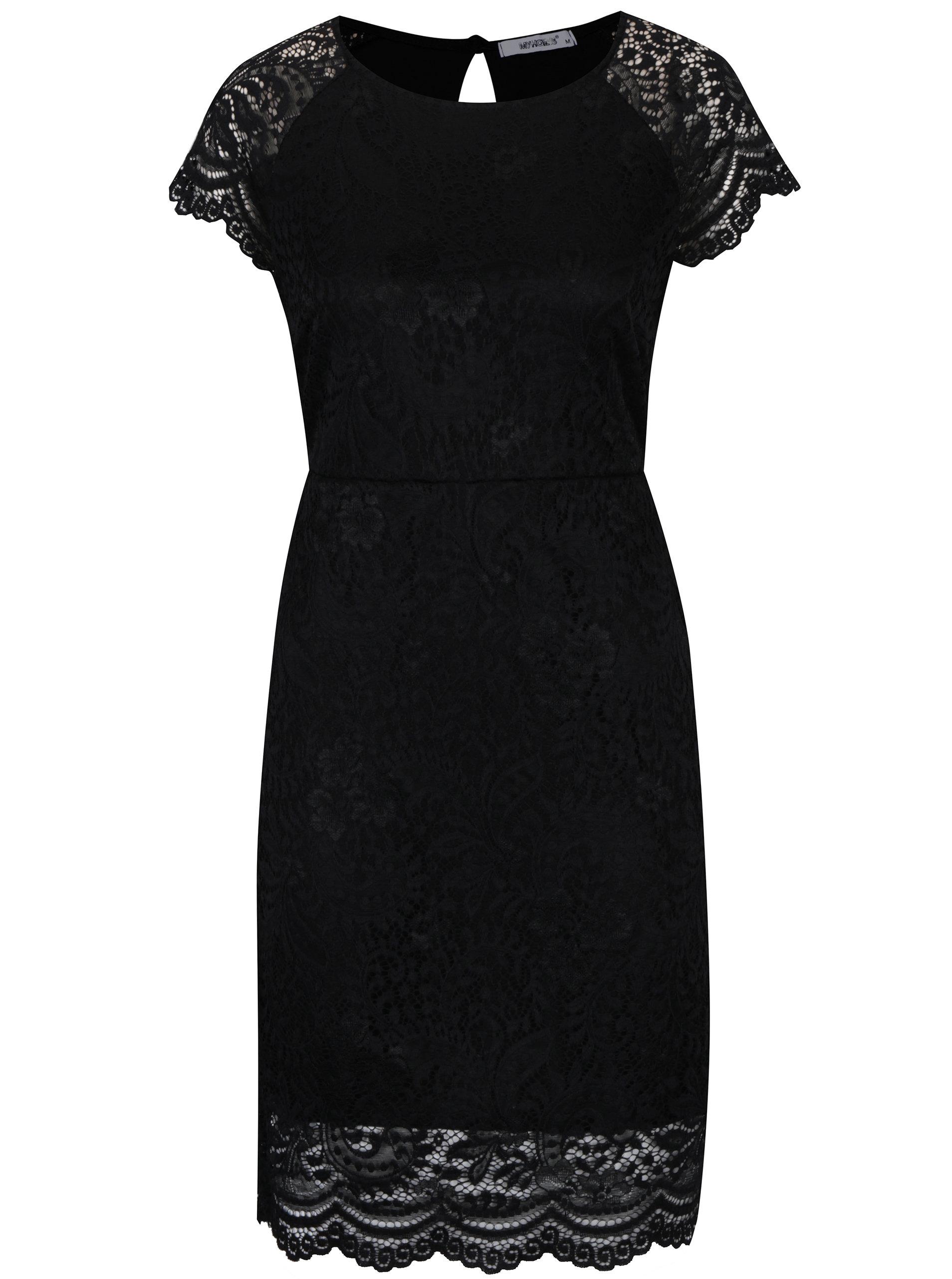 Černé krajkové šaty Haily´s Mara ... fe0772bff1