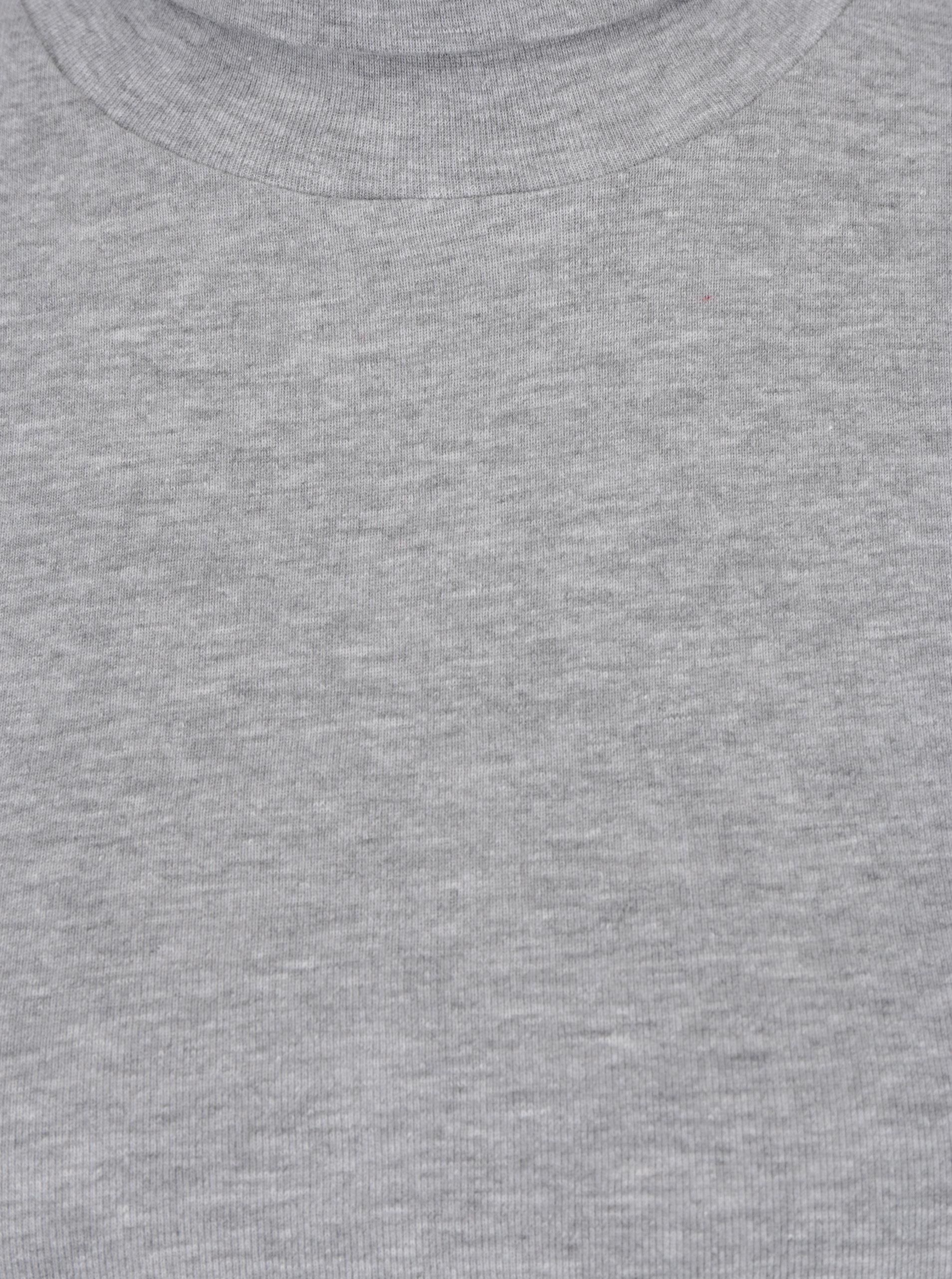 6315df9a9b06 Šedé dámské tričko s rolákem a dlouhým rukávem s.Oliver