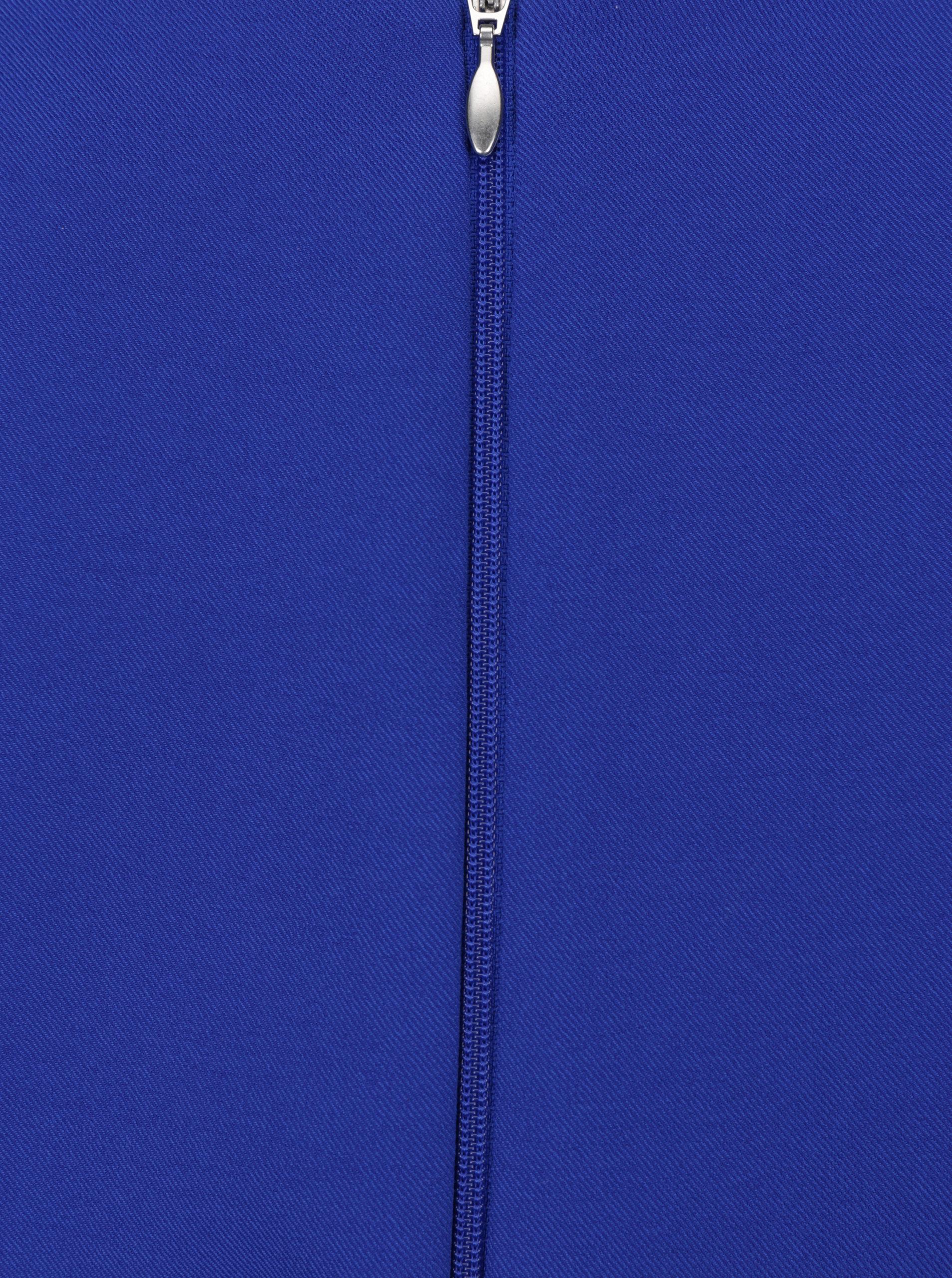 Modré šaty s opaskom Paper Dolls ... 4d04c26300f