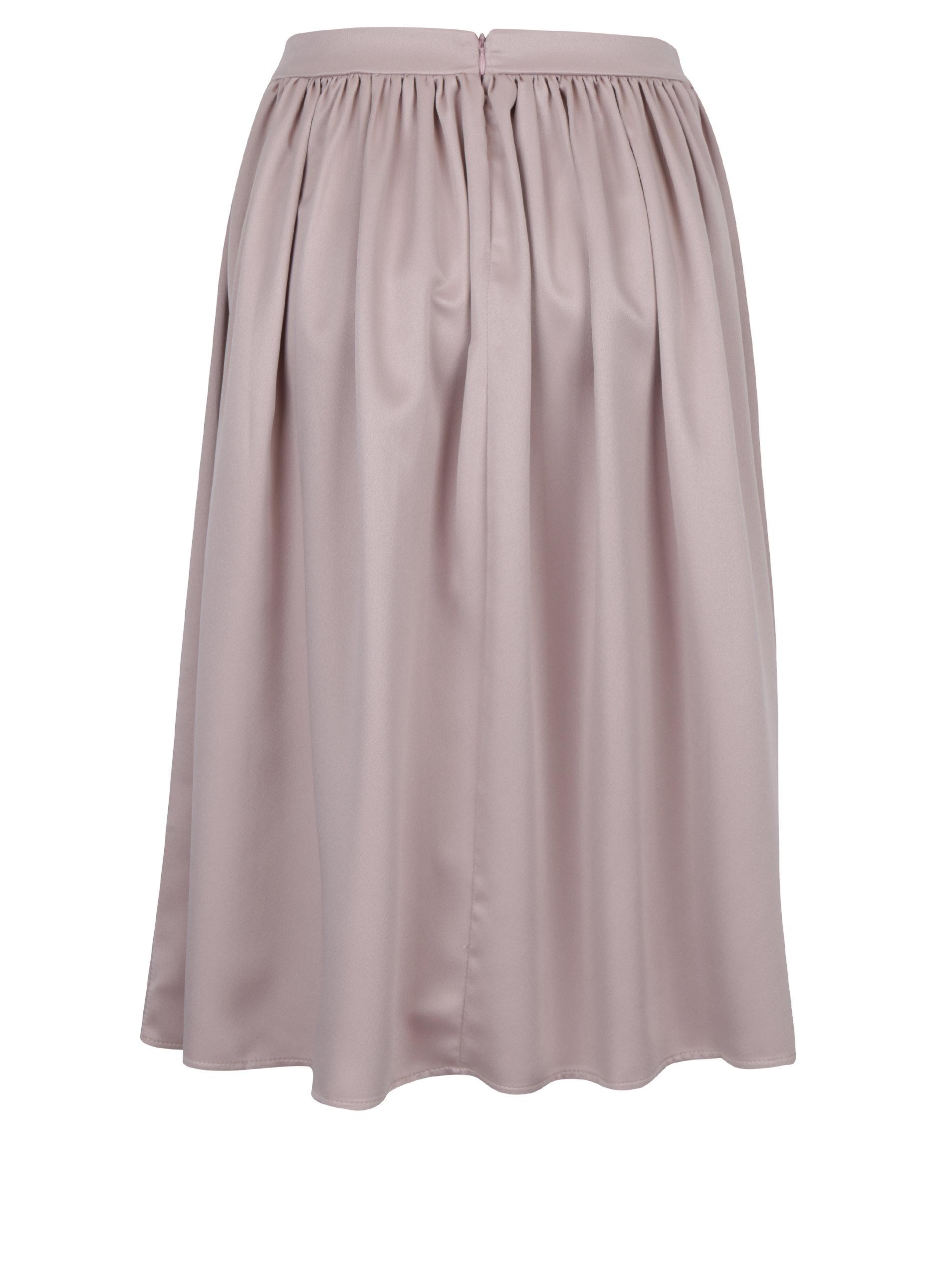 eb8016c2de24 Starorůžová áčková sukně ZOOT ...
