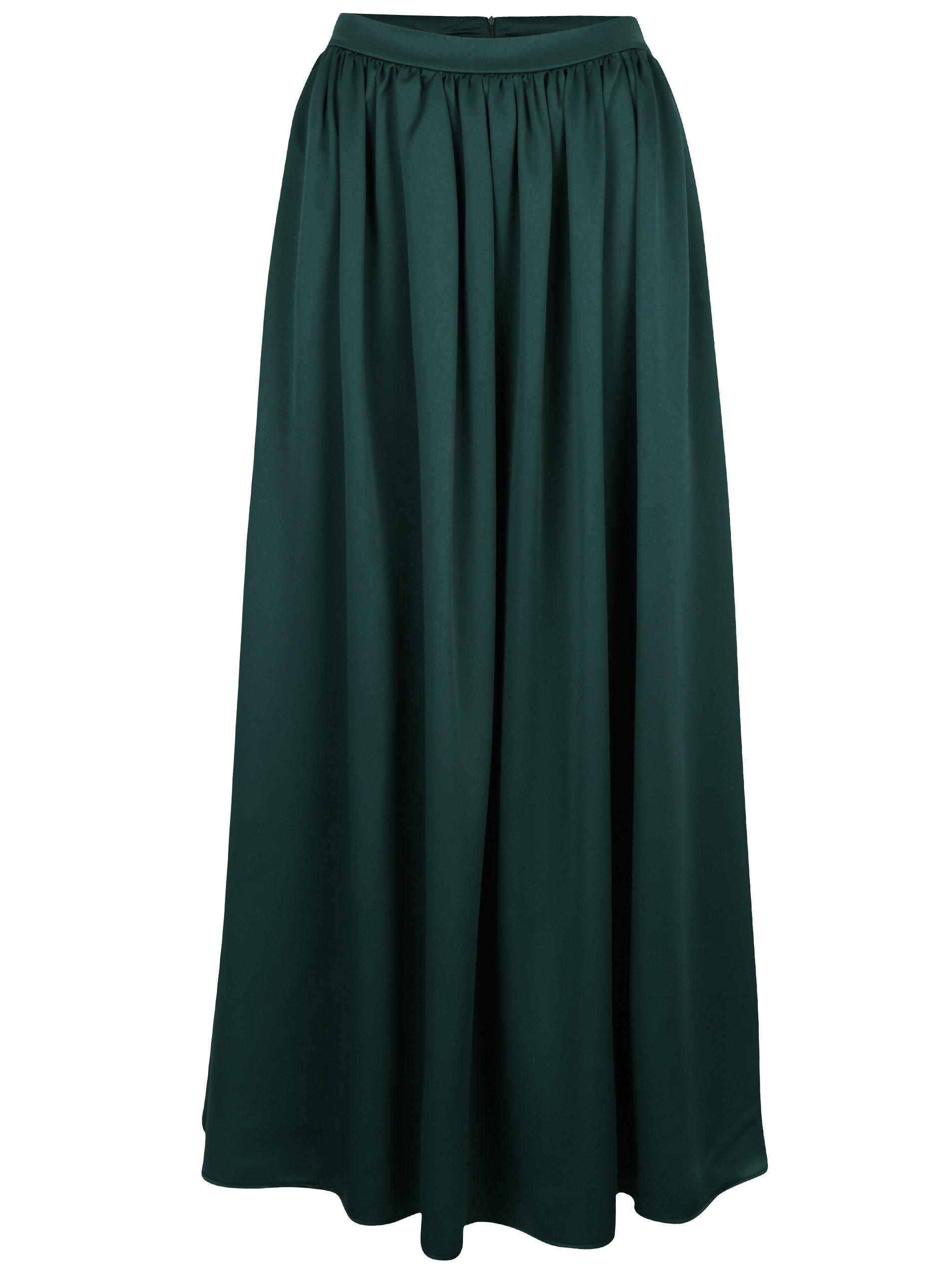 f9575193d772 Zelená maxi sukně ZOOT - SLEVA!