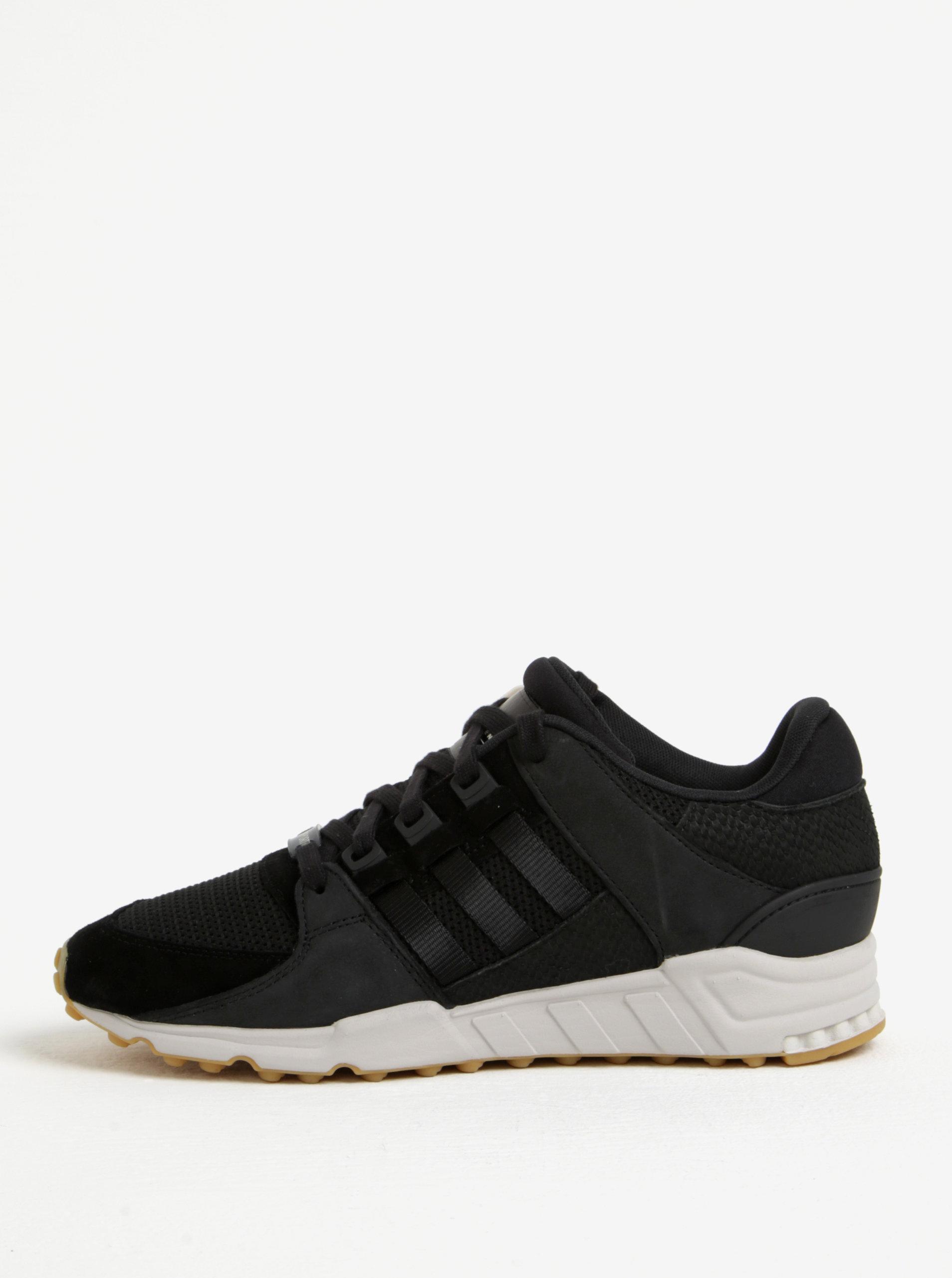 7a06abf3c Čierne pánske tenisky so semišovými detailmi adidas Originals Support ...