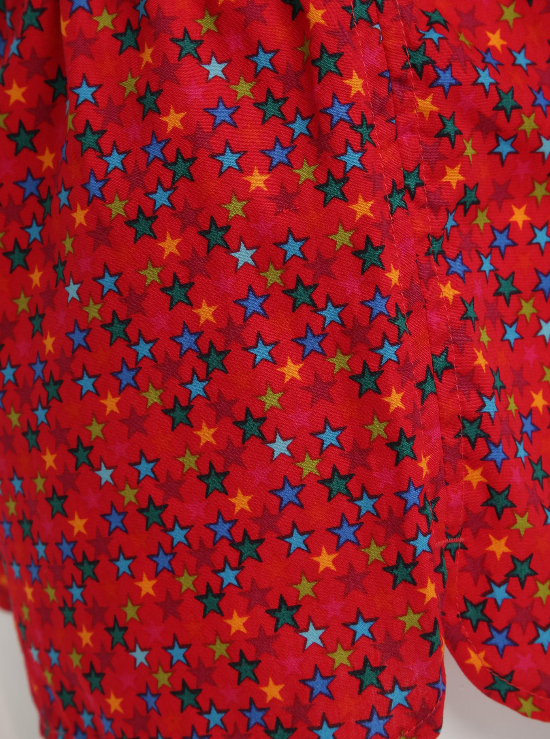 8a9e593aa23 Červené dámské trenky s hvězdičkami El.Ka Underwear ...