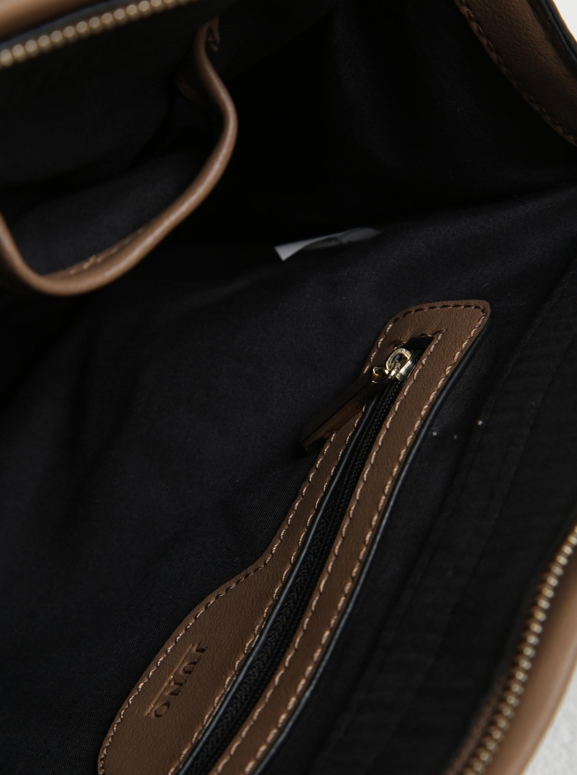 Svetlohnedá kabelka do ruky Juno ... dcaf9cfa0e
