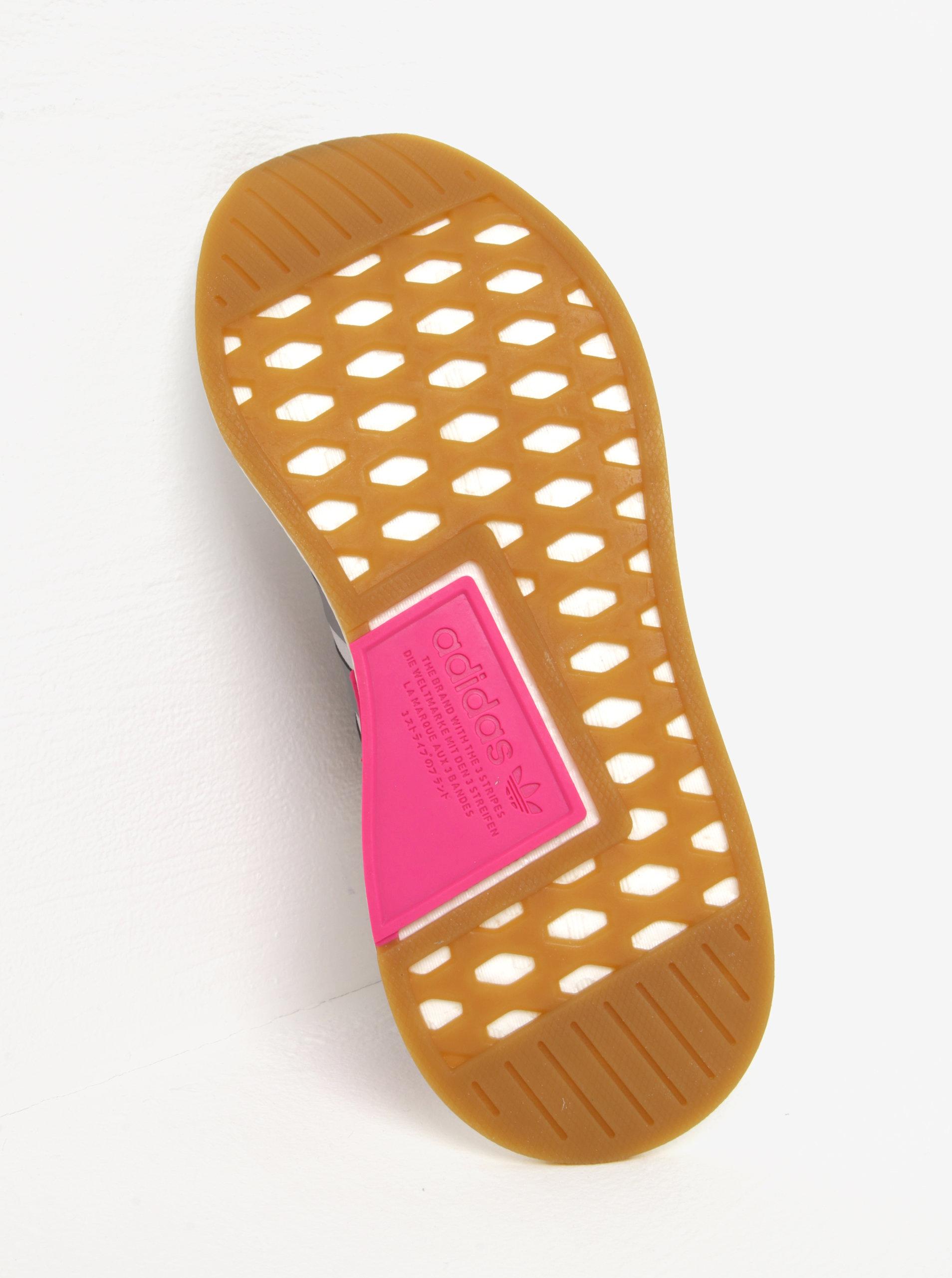 ebfe7dd1a8a ... Světle šedé dámské tenisky se semišovými detaily adidas Originals NMD R2
