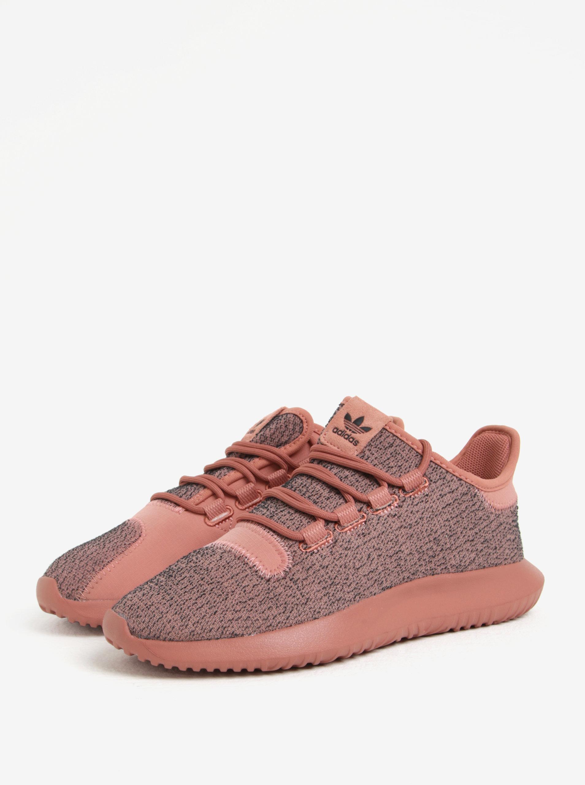 69ce03740c2 Šedo-růžové dámské tenisky adidas Originals Tubular Shadow ...