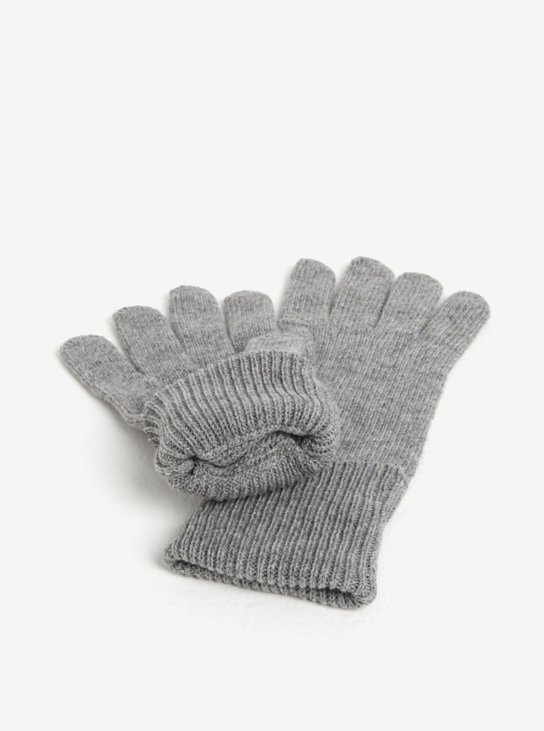 Súprava dámskej čiapky a rukavíc v sivej farbe v darčekovej škatuľke Tommy  Hilfiger ... 8db36633e5b