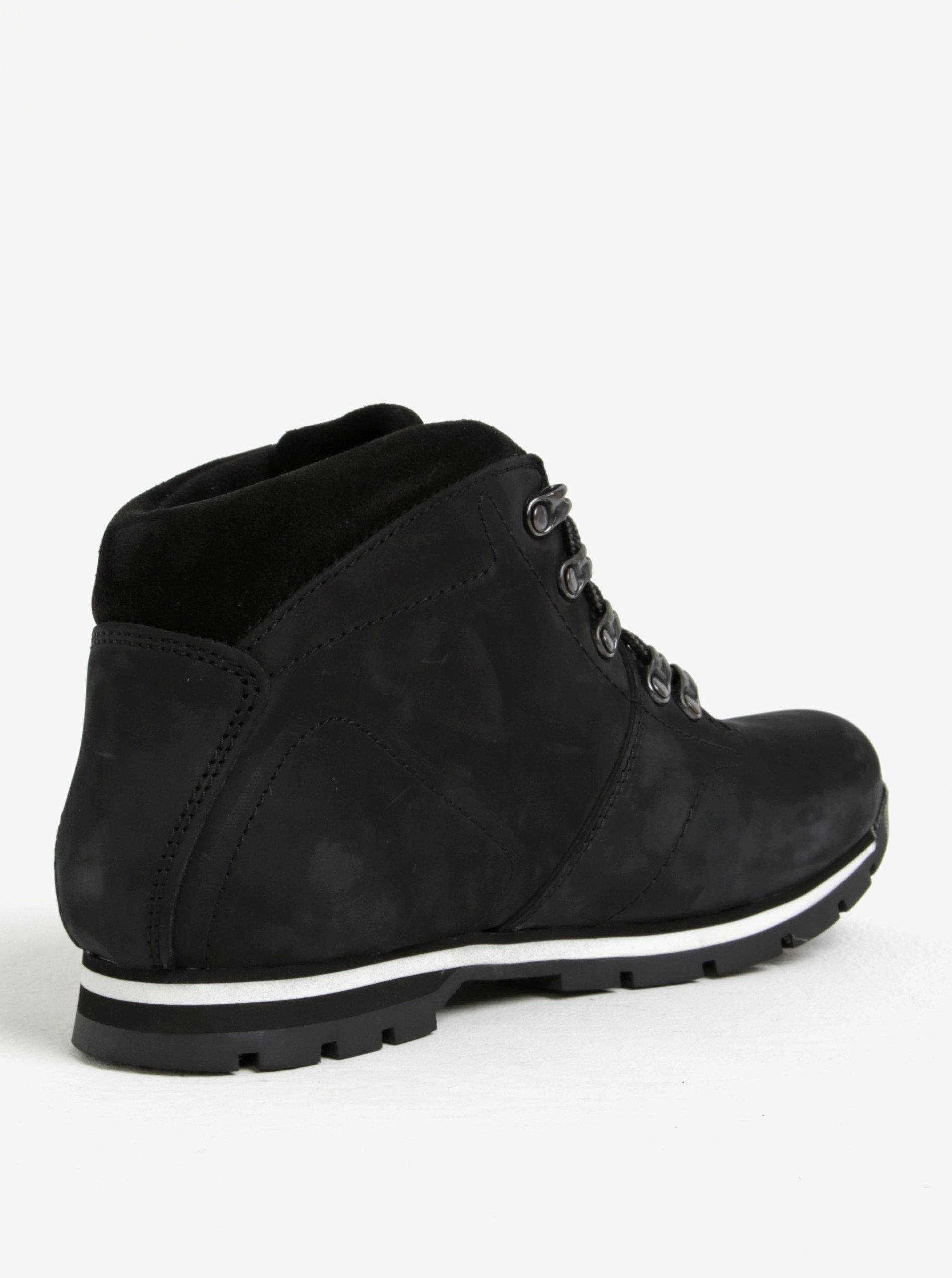 5924eaf783 Černé pánské kožené kotníkové boty Weinbrenner Černé pánské kožené kotníkové  boty Weinbrenner ...