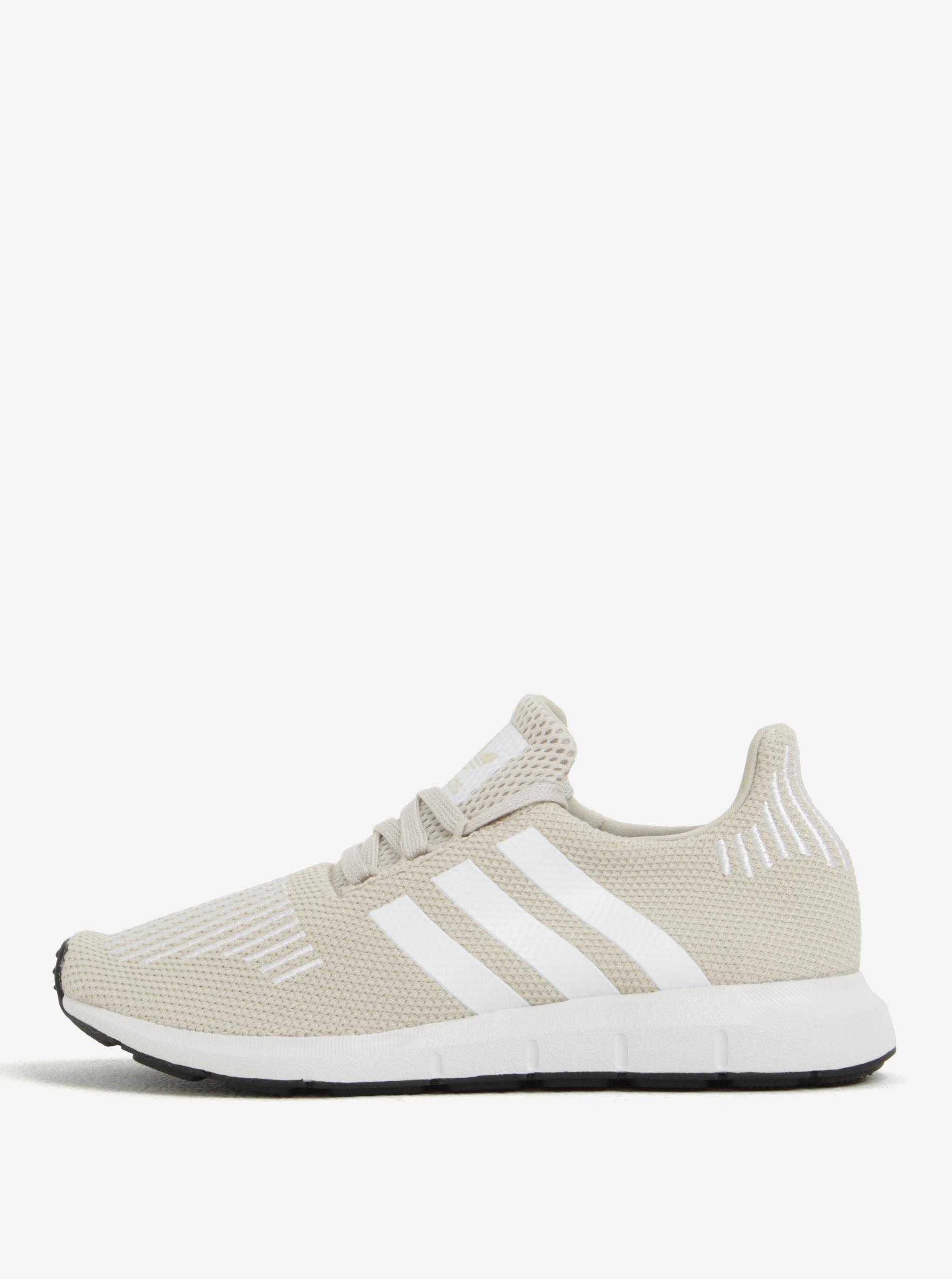 Béžové dámske tenisky adidas Originals Swift Run ... 123838534fb