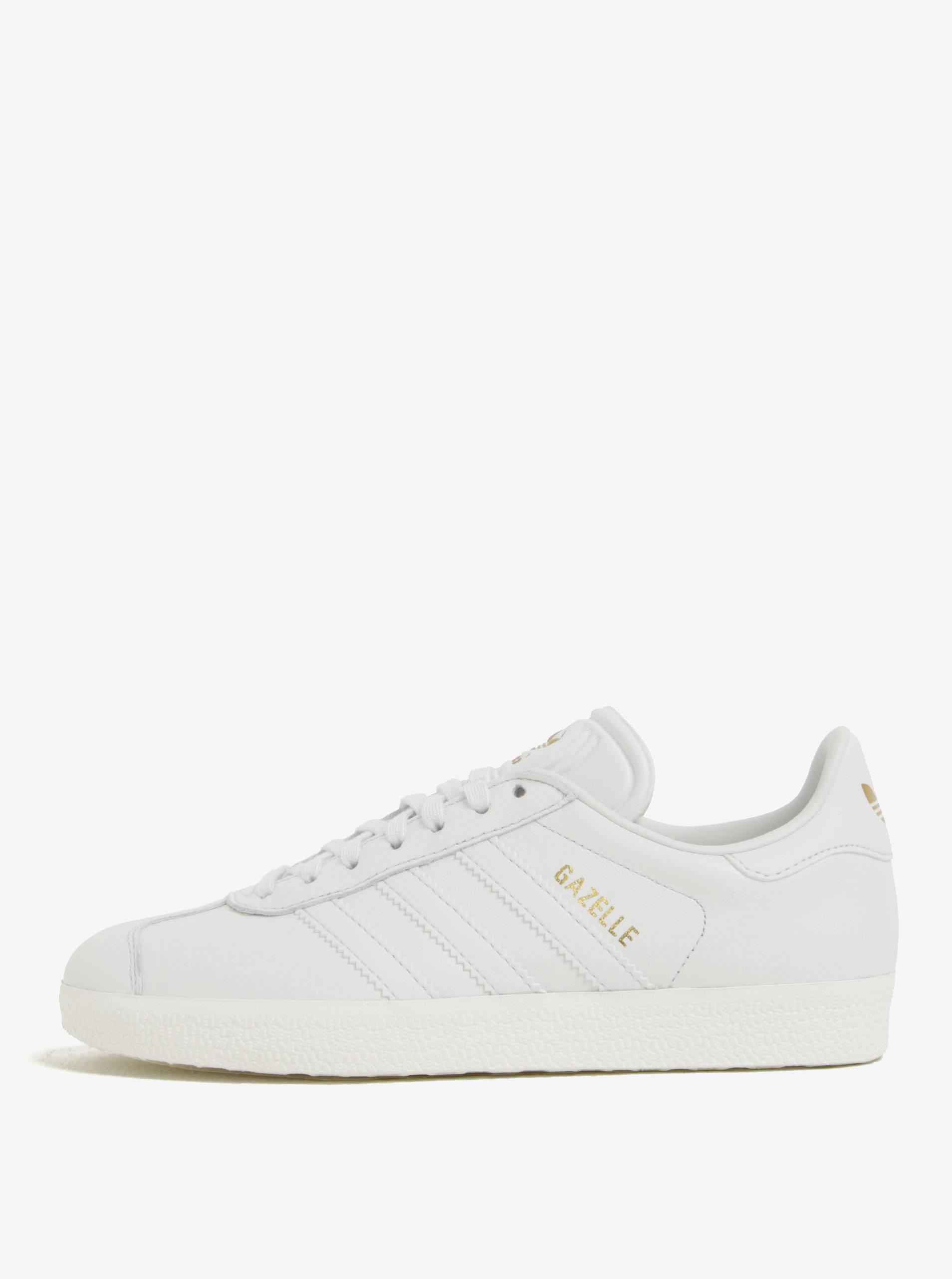 Biele dámske tenisky adidas Originals Gazelle ... 62a2e8fcc2d