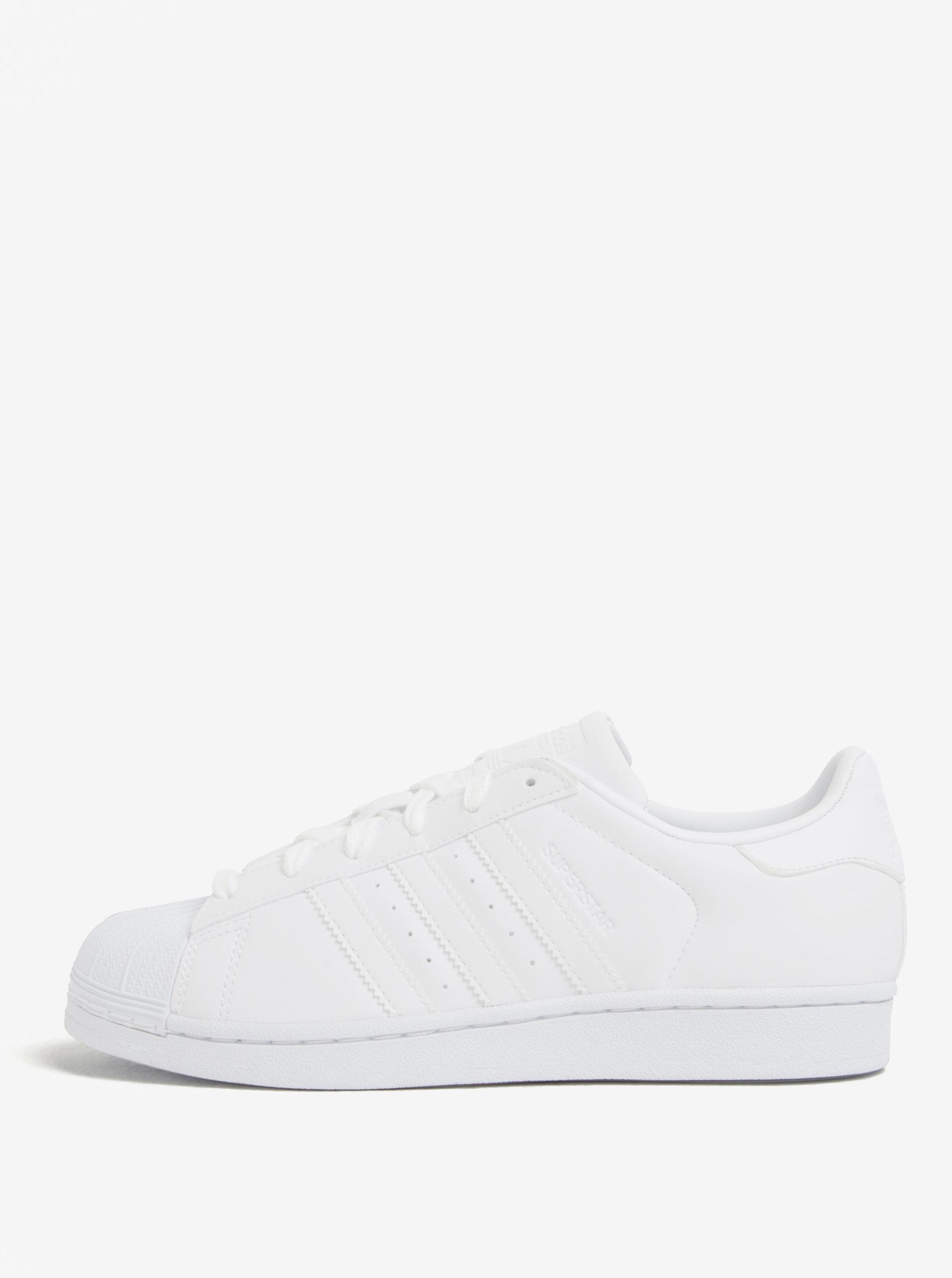 37357b2f3da Bílé dámské tenisky adidas Originals Superstar ...