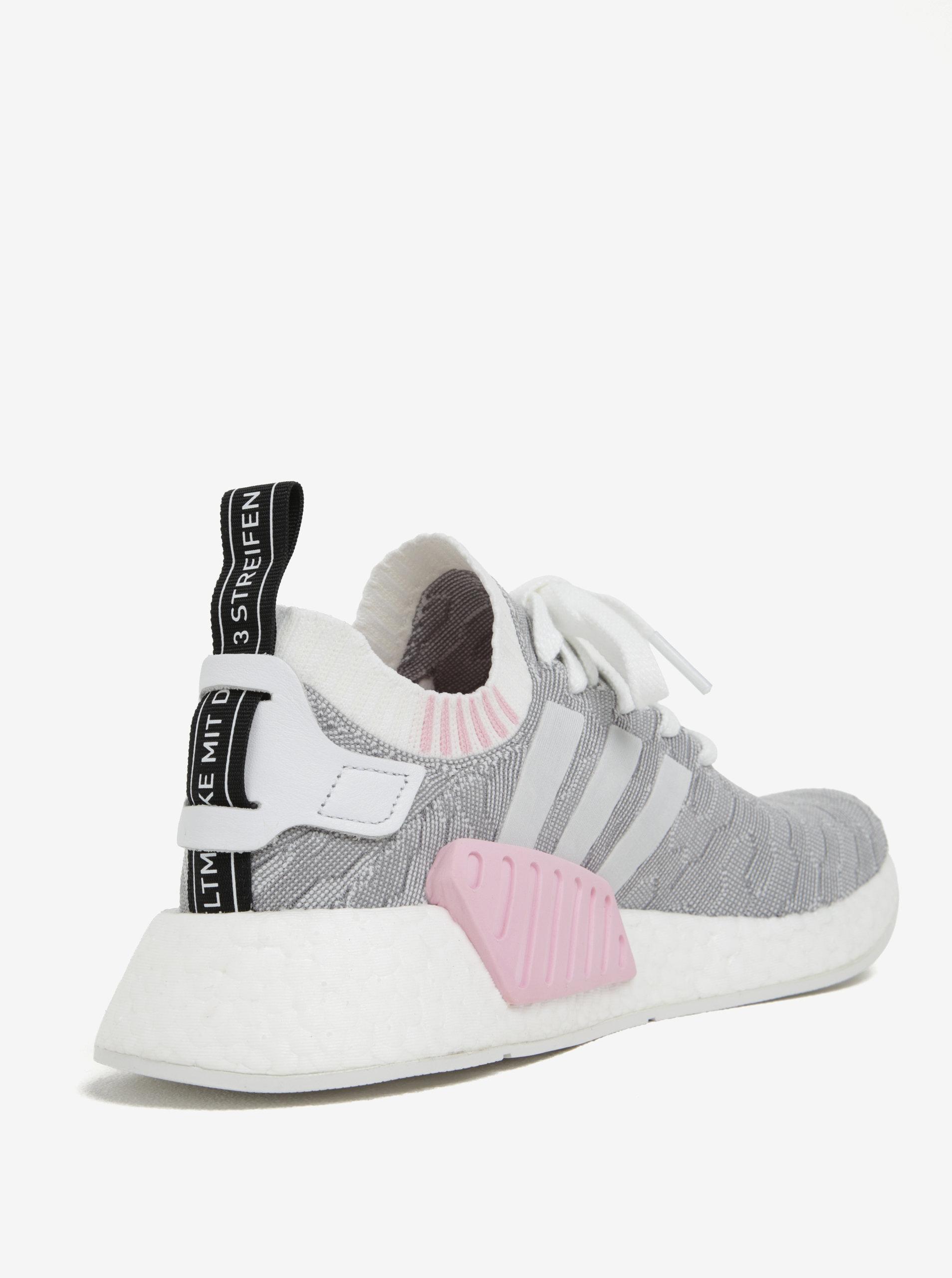 1d70e508453aa Sivé dámske vzorované tenisky adidas Originals NMD | ZOOT.sk