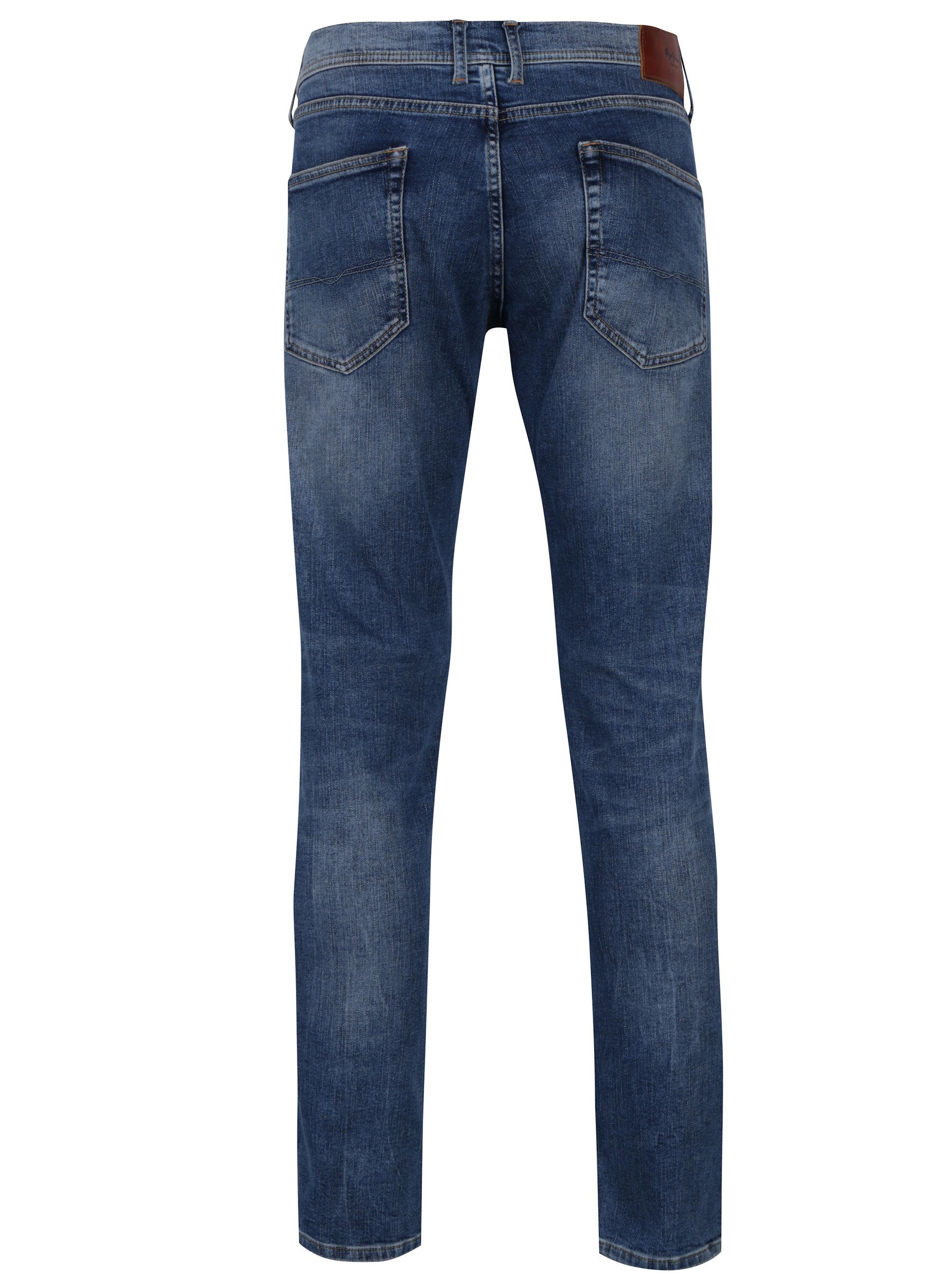 301642080c9 Světle modré pánské straight džíny Pepe Jeans Cane ...
