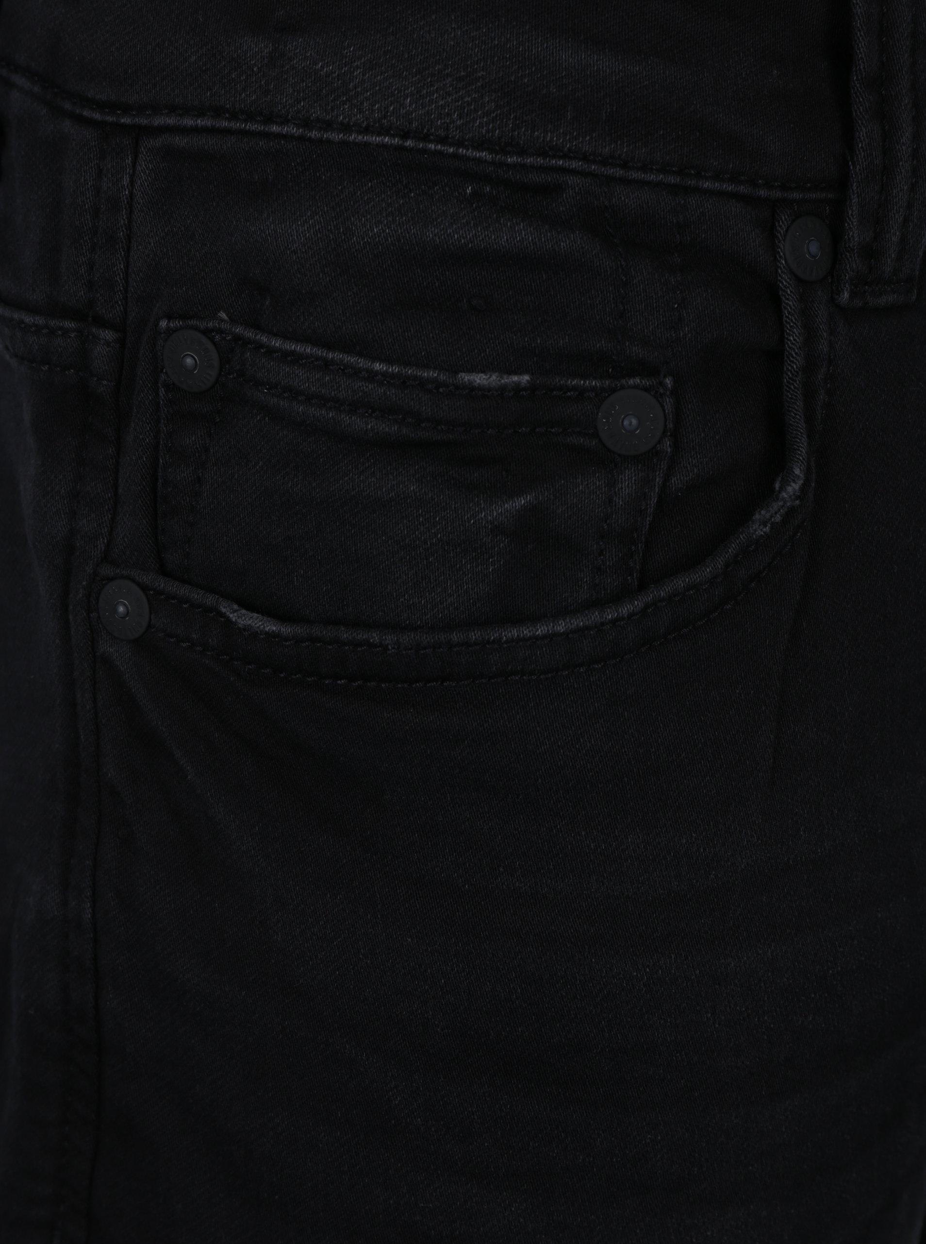 Černé slim fit džíny s vyšisovaným efektem ONLY   SONS Loom ... b624b649d4