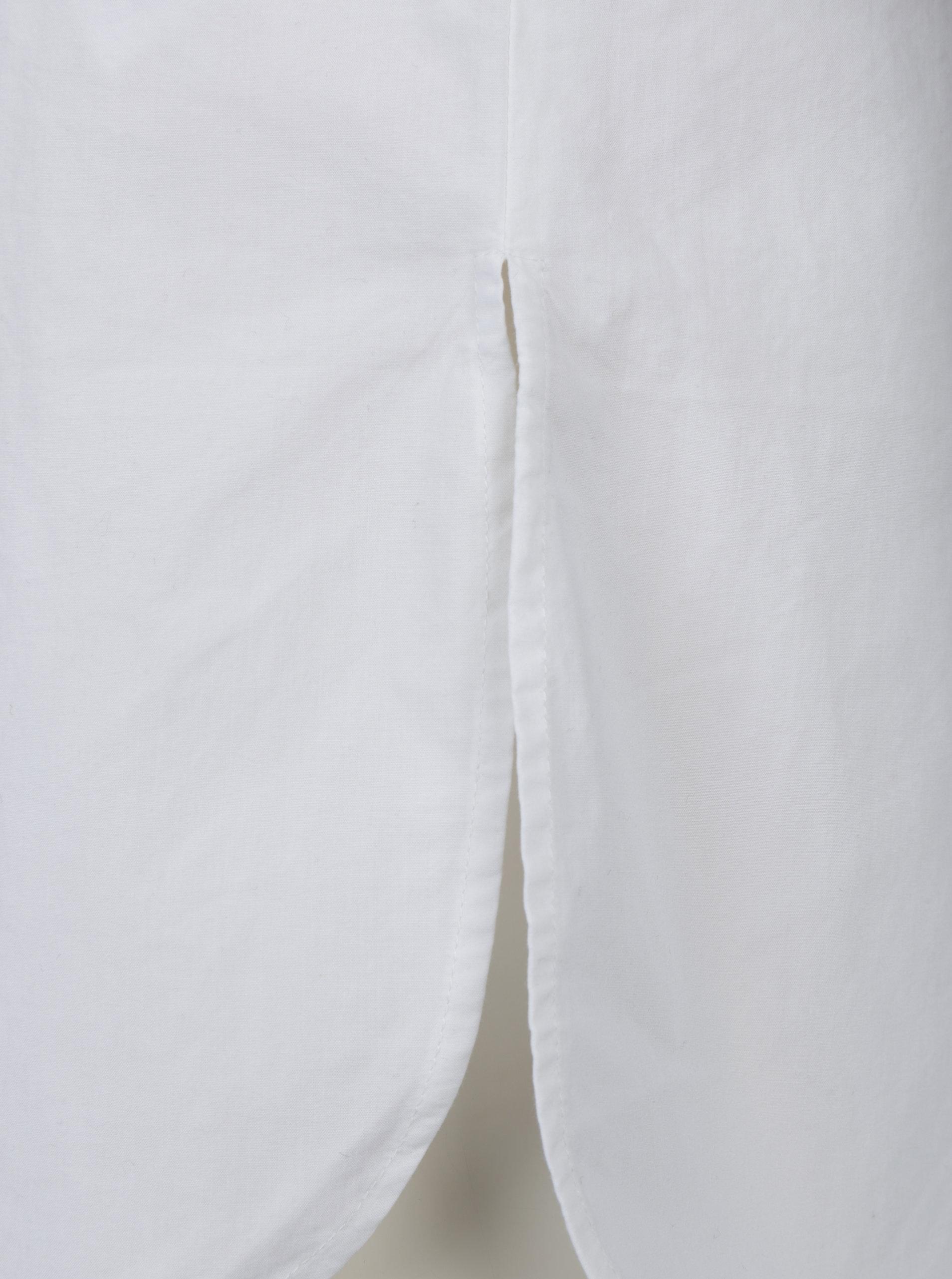 6b1b360bb623 Biela dlhá košeľa VERO MODA Juljane ...