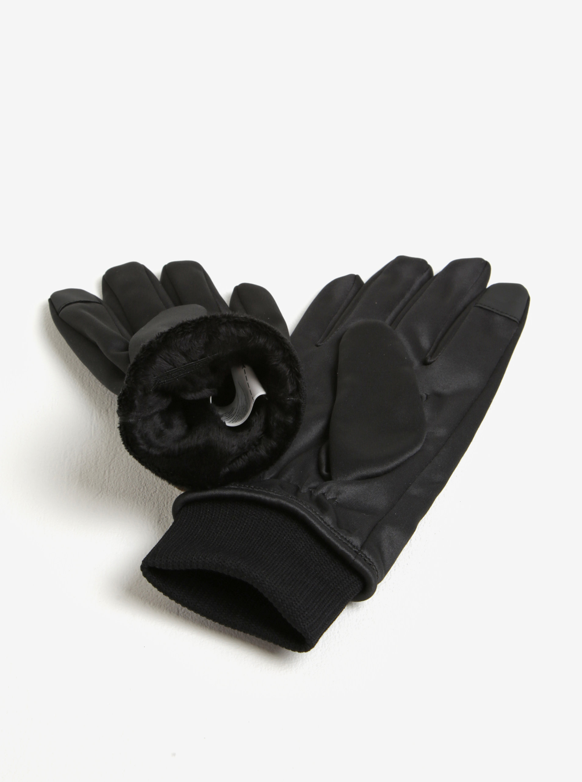 Černé pánské rukavice adidas Originals ... b83966a26d