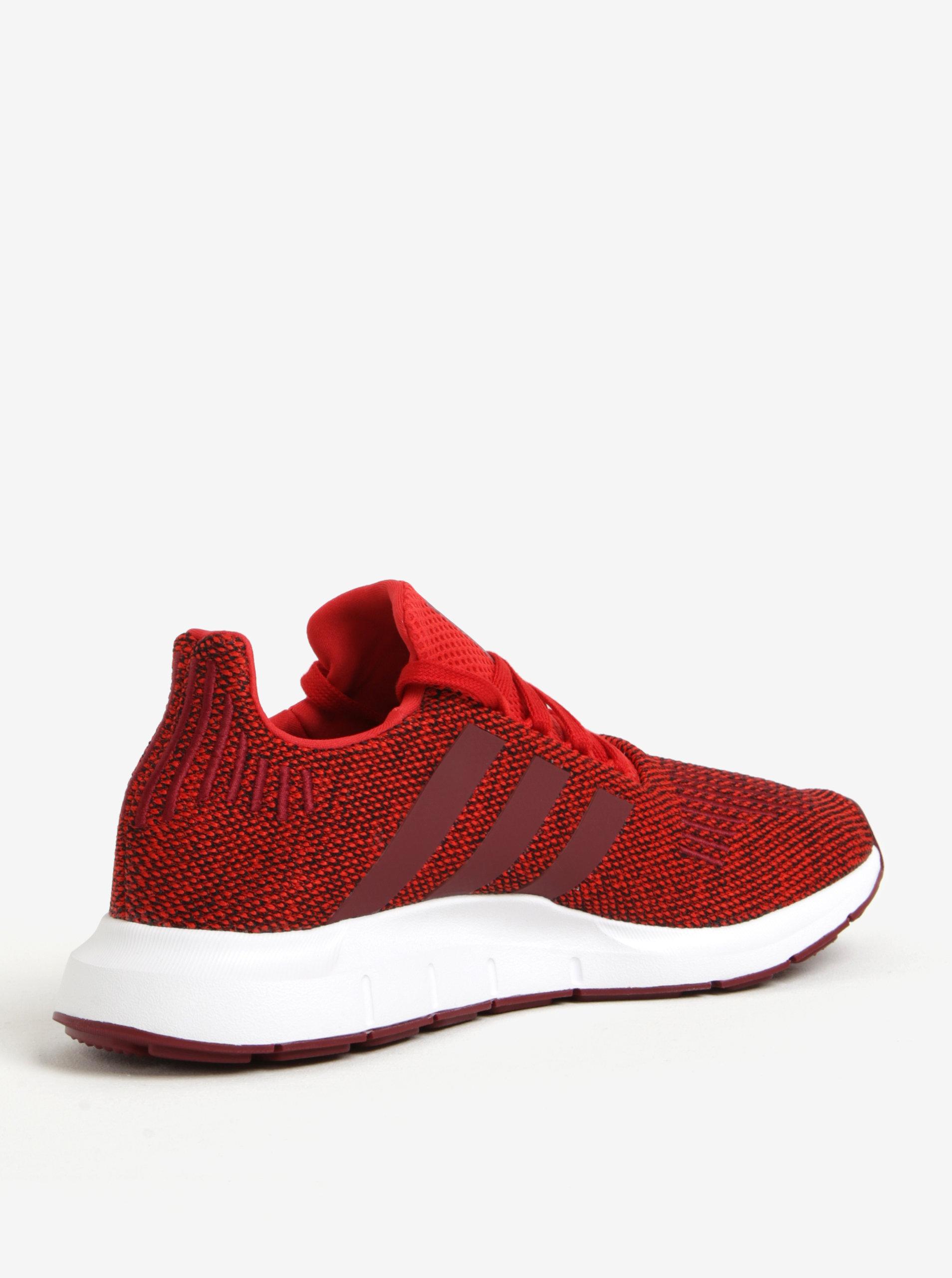 Červené pánské tenisky adidas Originals Swift Run ... 24c420f85e8