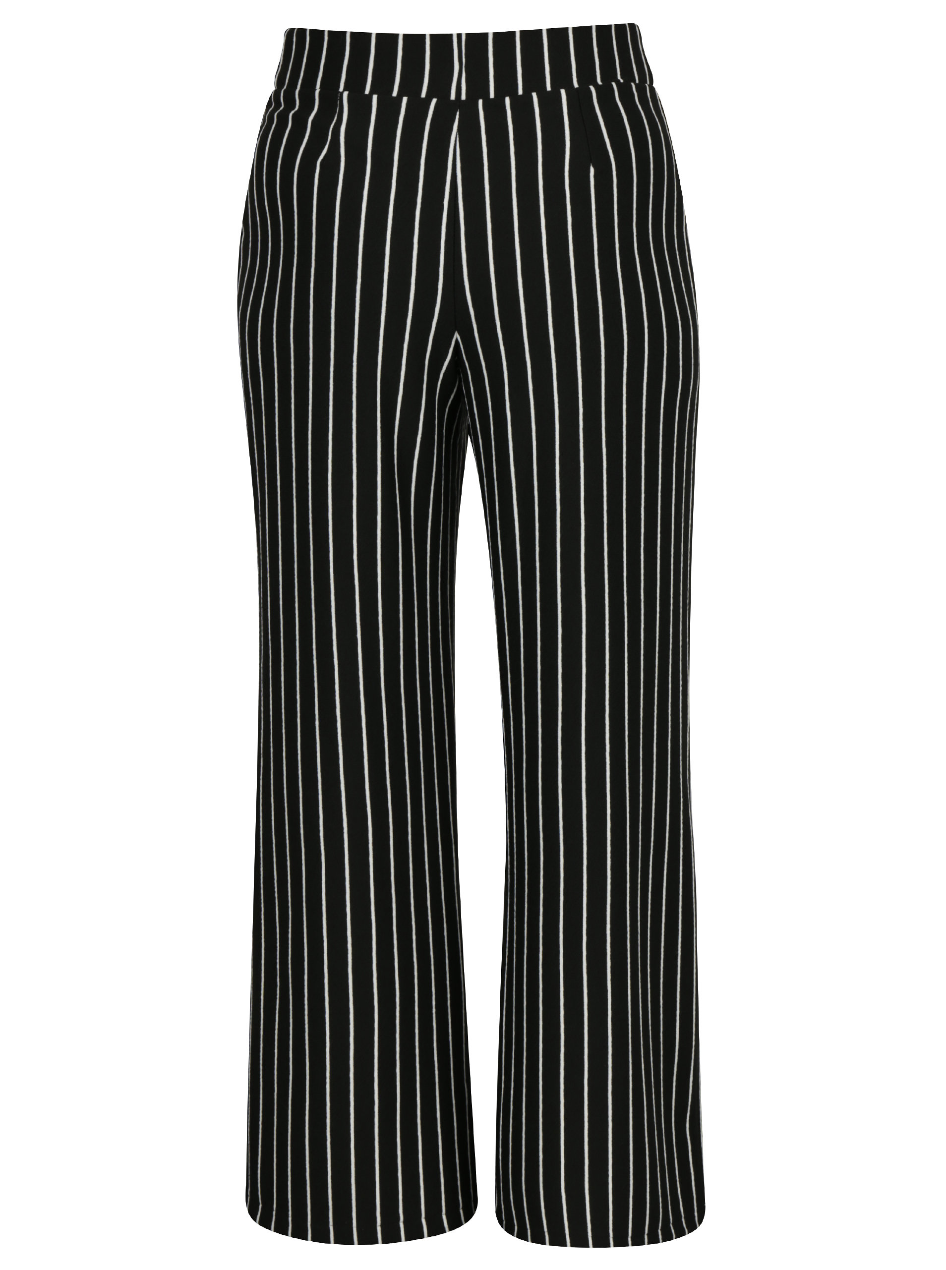 a8faec34b287 Čierno-biele pruhované nohavice Miss Selfridge Petites ...