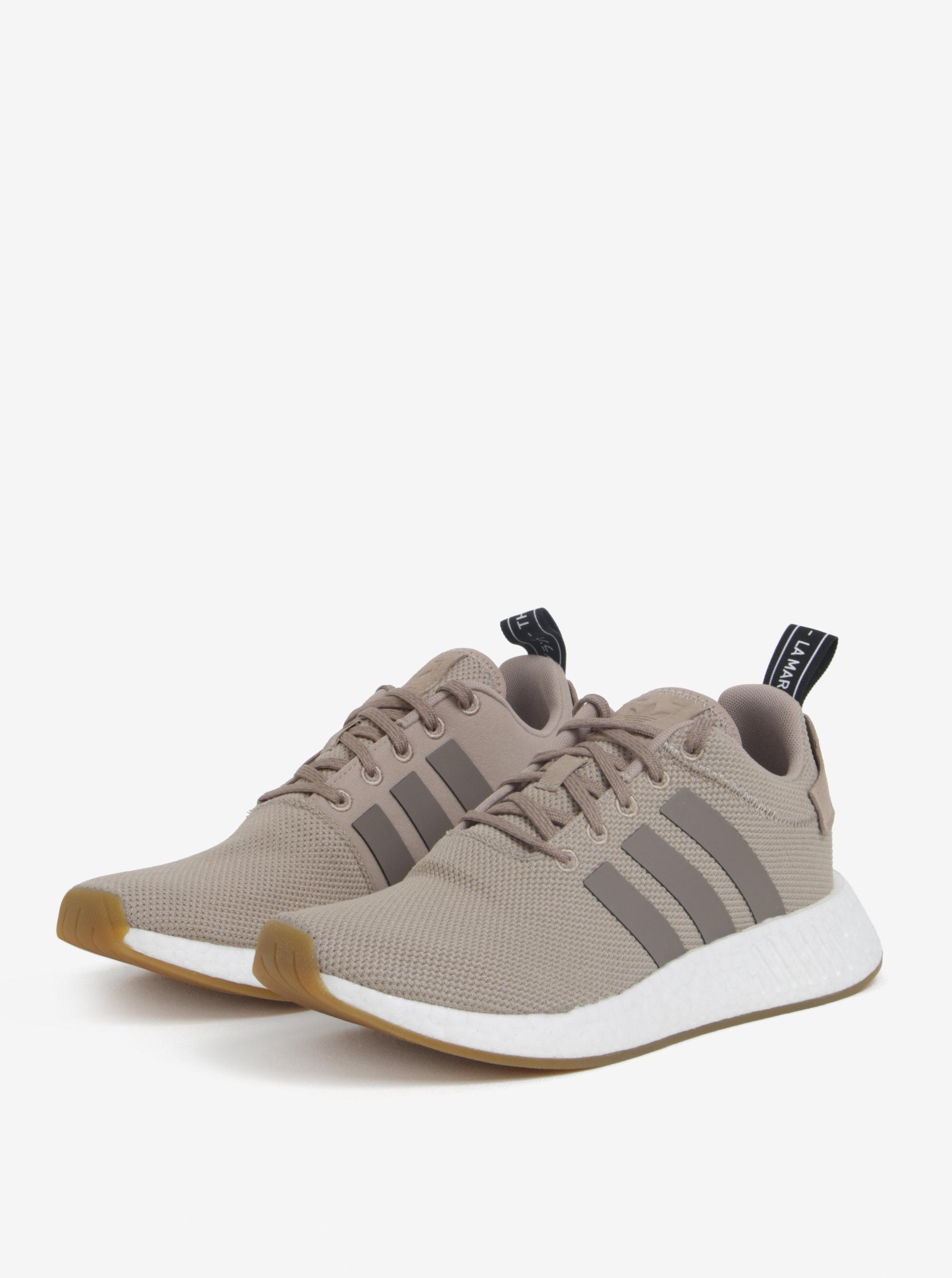 Béžové pánské tenisky adidas Originals NMD R2 ... b06a3ba7875