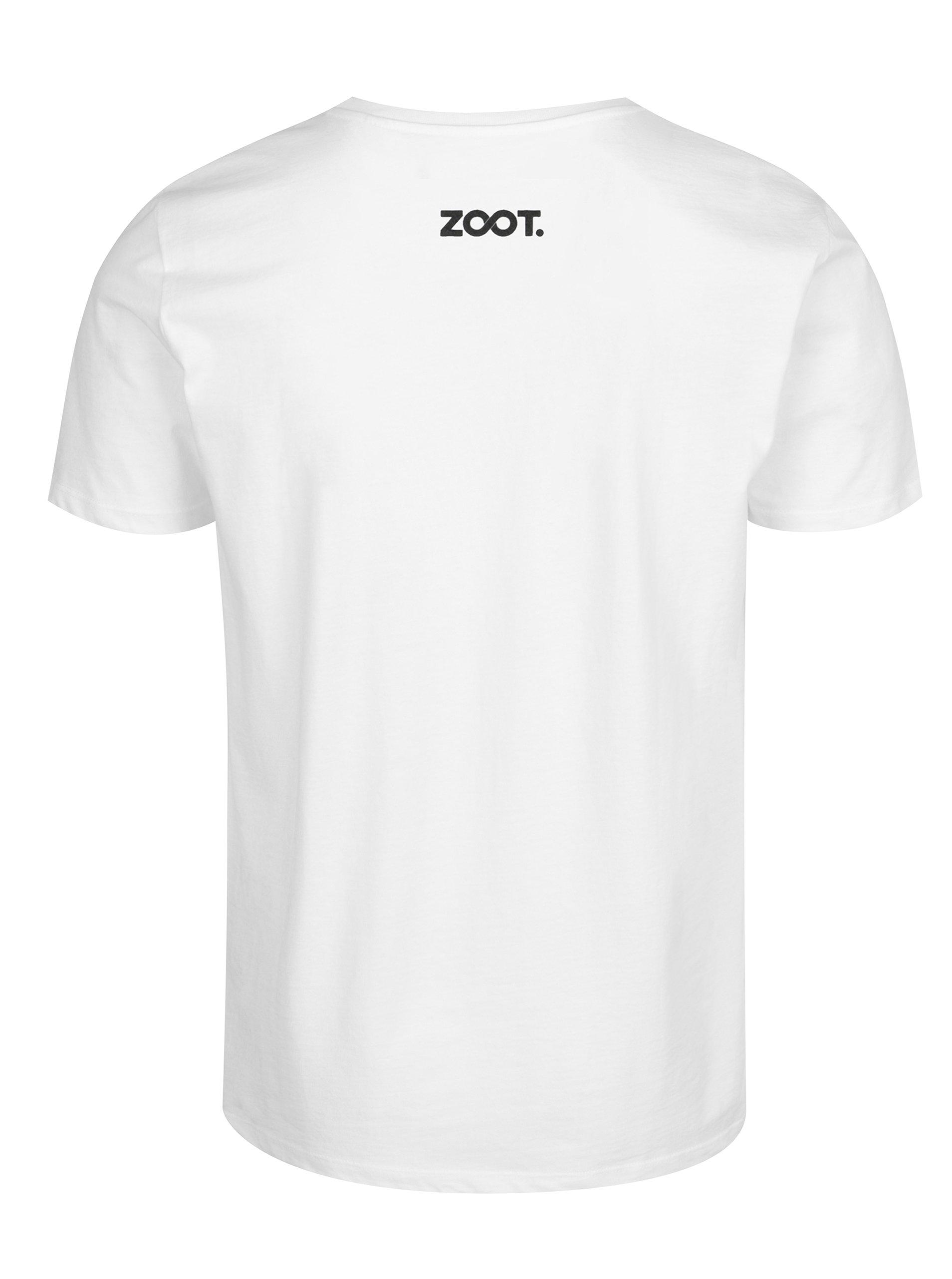 Bílé dětské tričko ZOOT Kids Lední medvěd ... 6872bcb931
