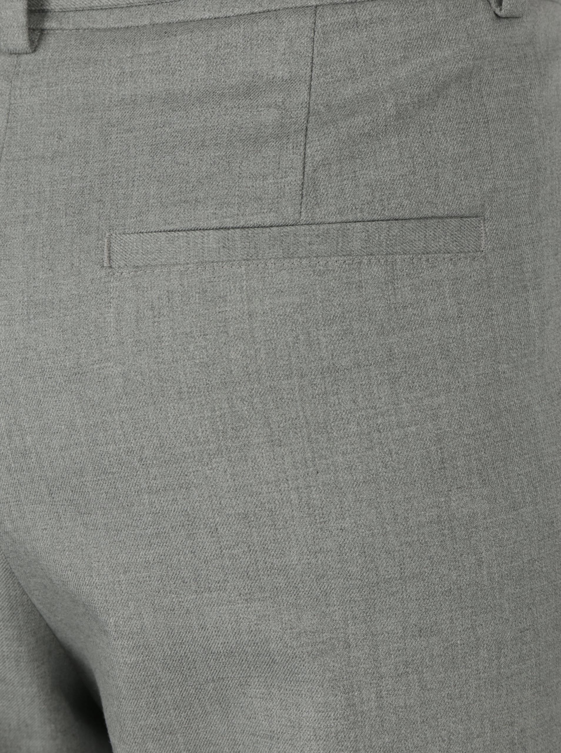 de0540b1a5c0 Svetlosivé dámske nohavice s opaskom s.Oliver