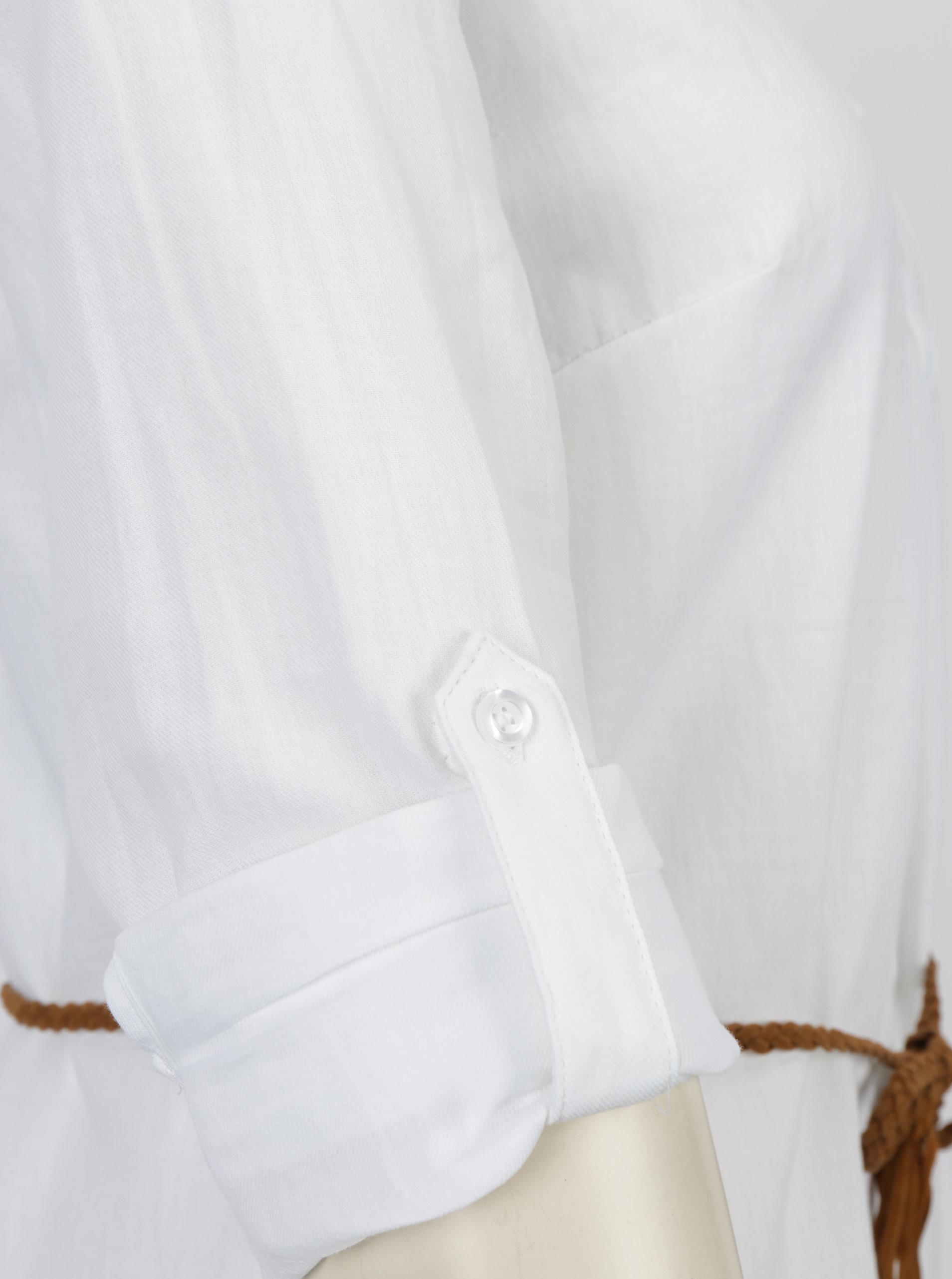 20b92d128f1 Bílá dlouhá košile s páskem Haily´s Larissa ...