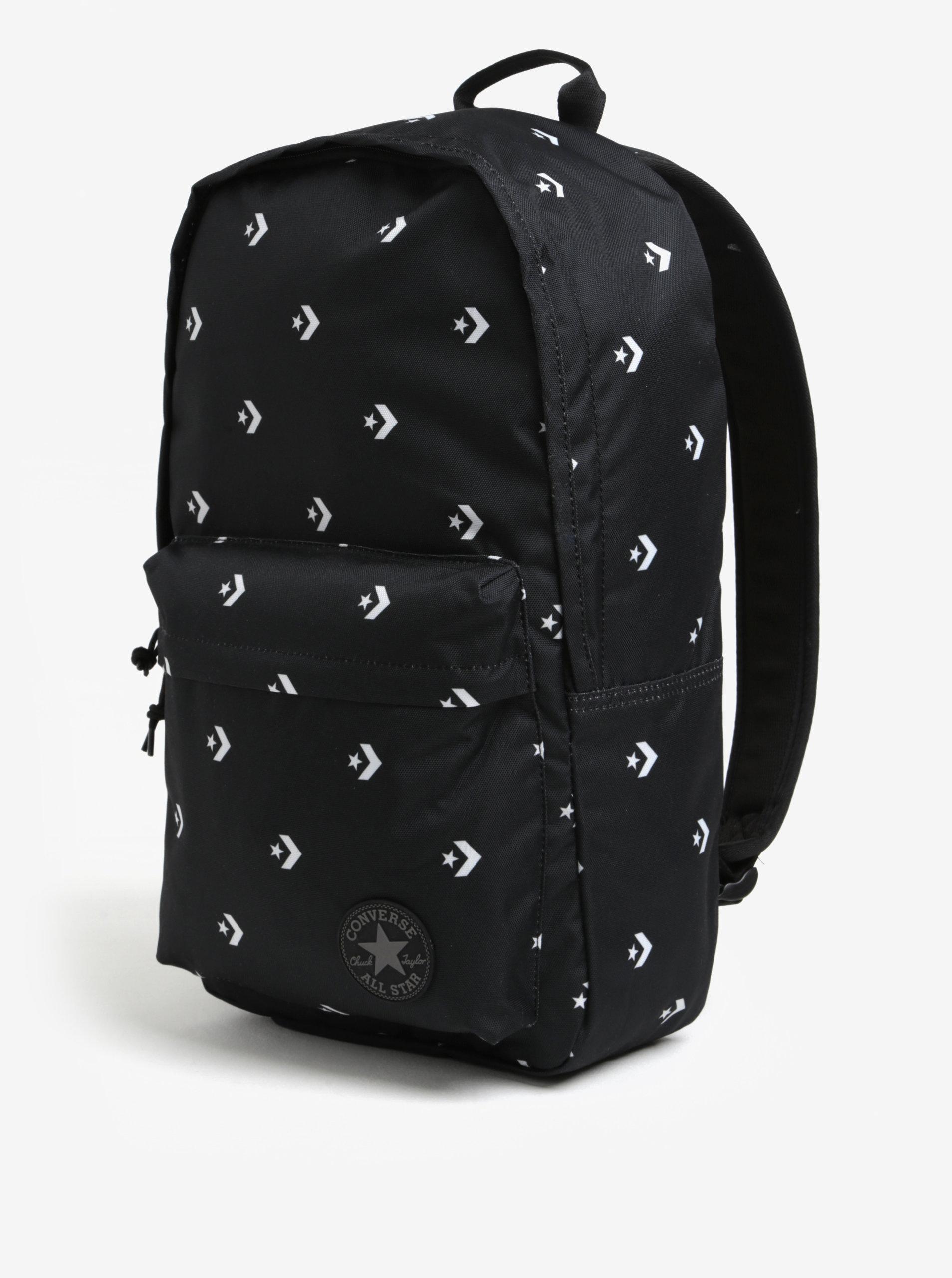 fa77f55250 Čierny batoh s potlačou Converse EDC Poly 19 l ...
