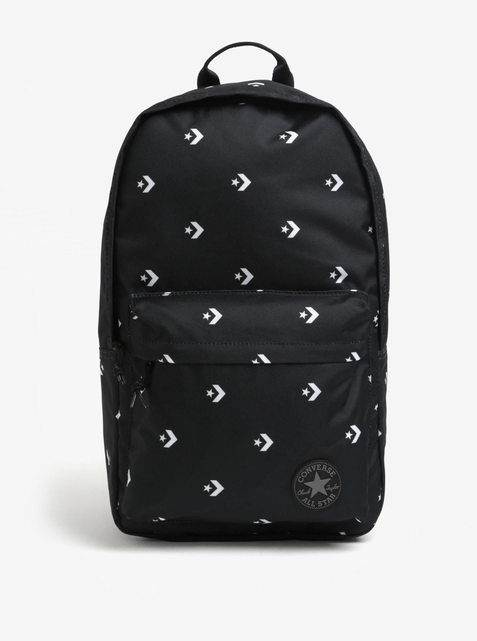 Černý batoh s potiskem Converse EDC Poly 19 l ... 4dff193a7f