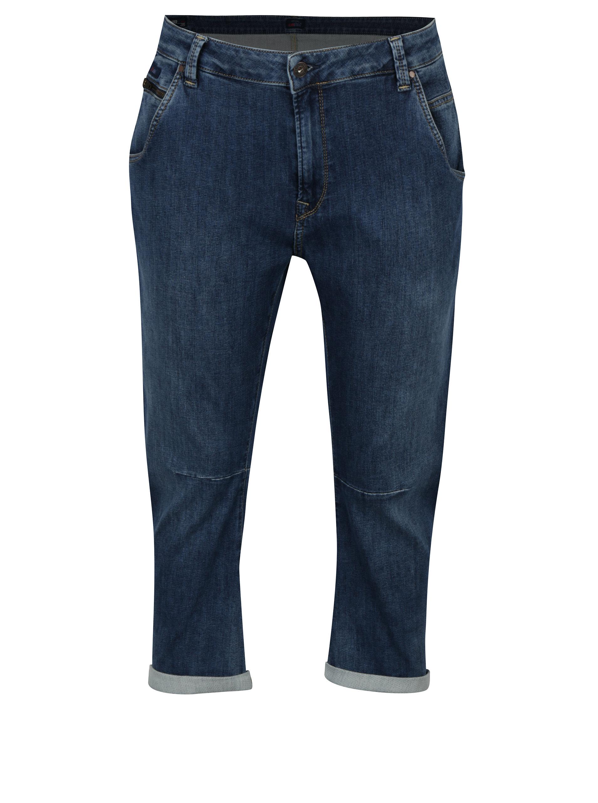 Modré dámské relaxed zkrácené džíny Pepe Jeans Topsy ... 258d500e94