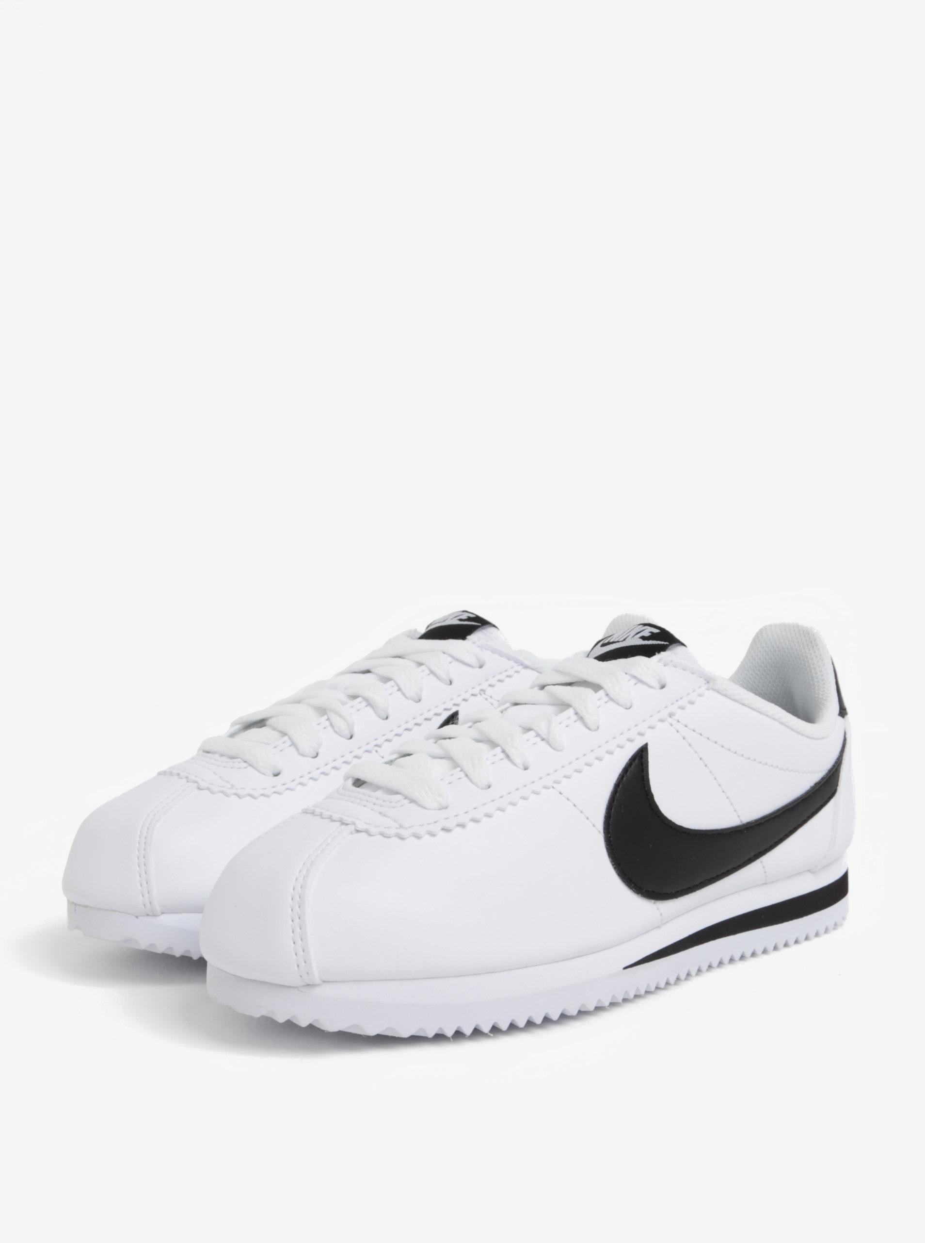 9194db093f3 Černo-bílé dámské tenisky Nike Classic Cortez ...