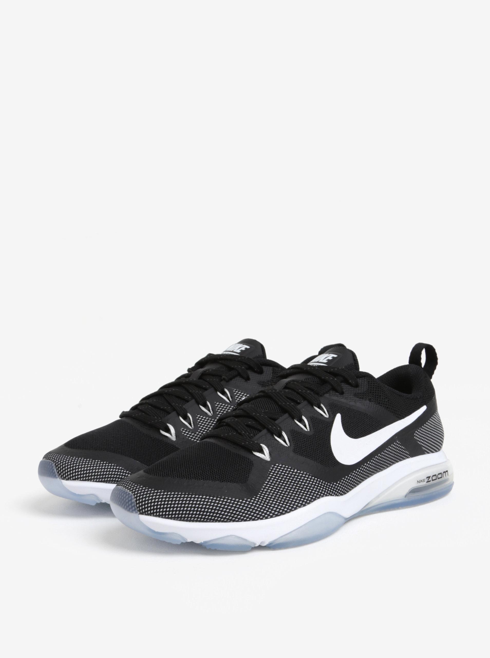 Bílo-černé dámské tenisky Nike Zoom Fitness Training ... 6c41d05236c