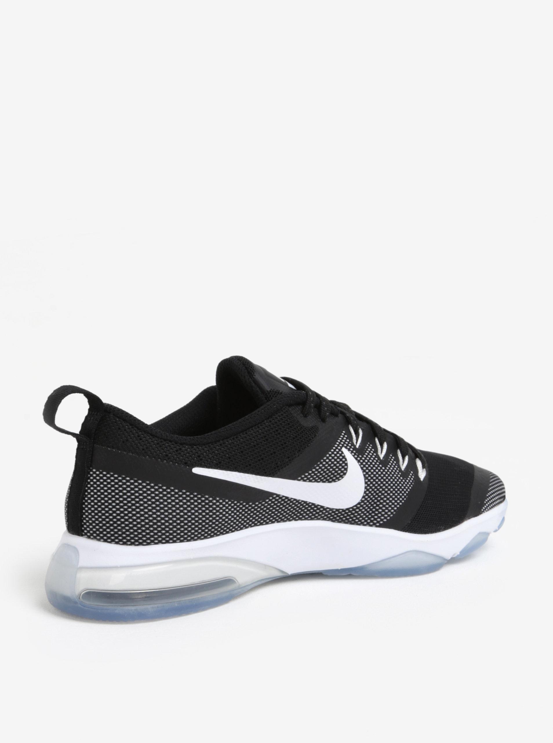 Bielo-čierne dámske tenisky Nike Zoom Fitness Training ... a465647bd3e