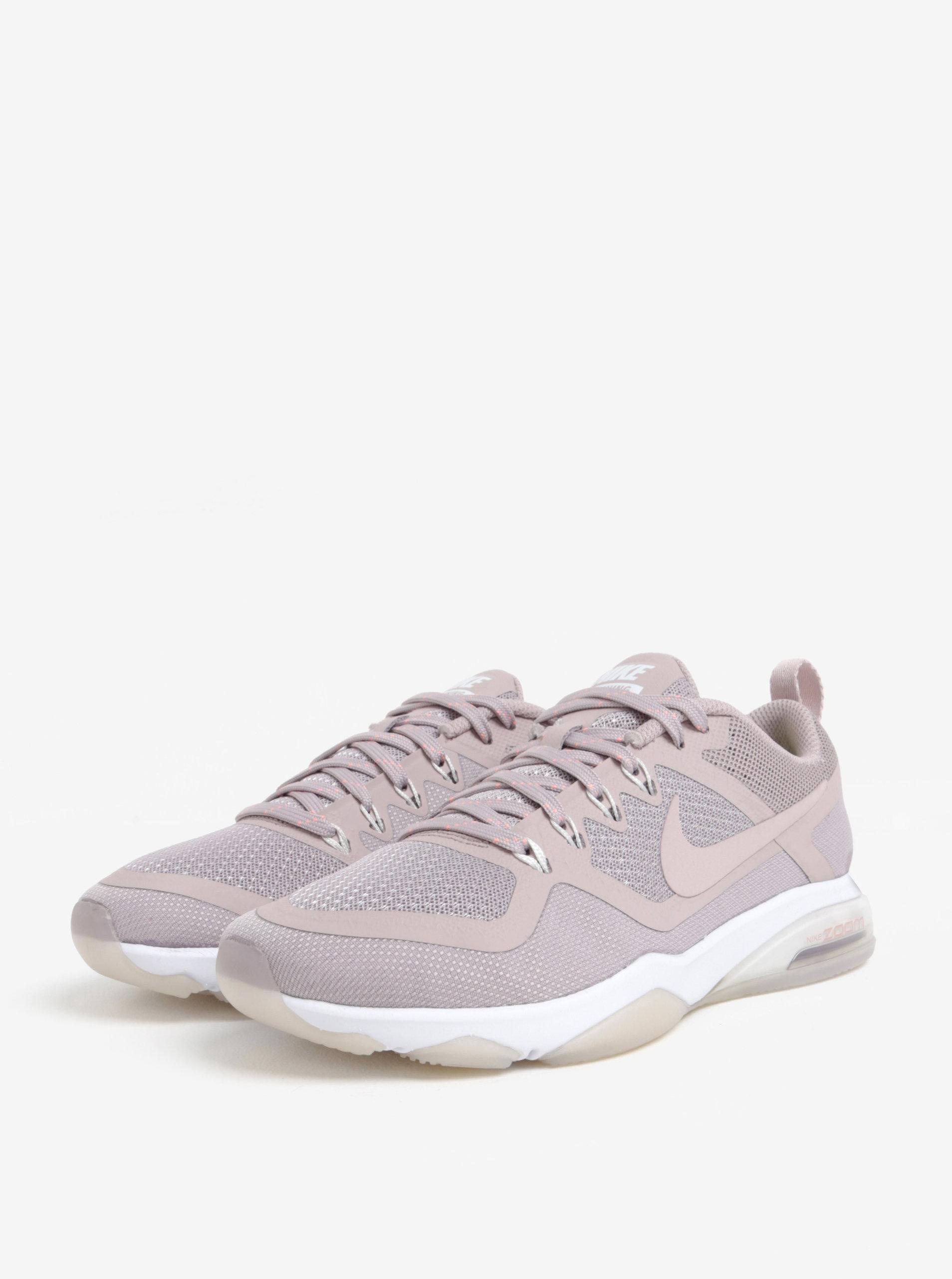 Starorůžové dámské tenisky Nike Zoom Fitness Training ... 223c04a194