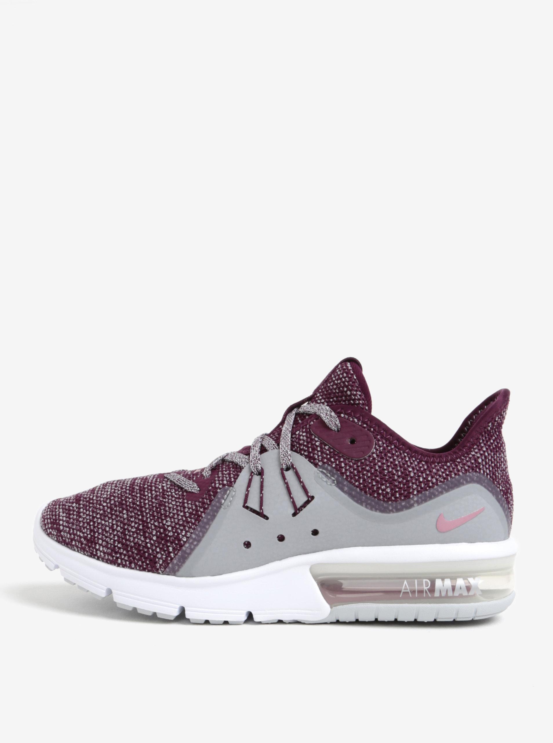 Růžovo-šedé dámské tenisky Nike Air Max Kantara Running - Akční cena ... 38948006677