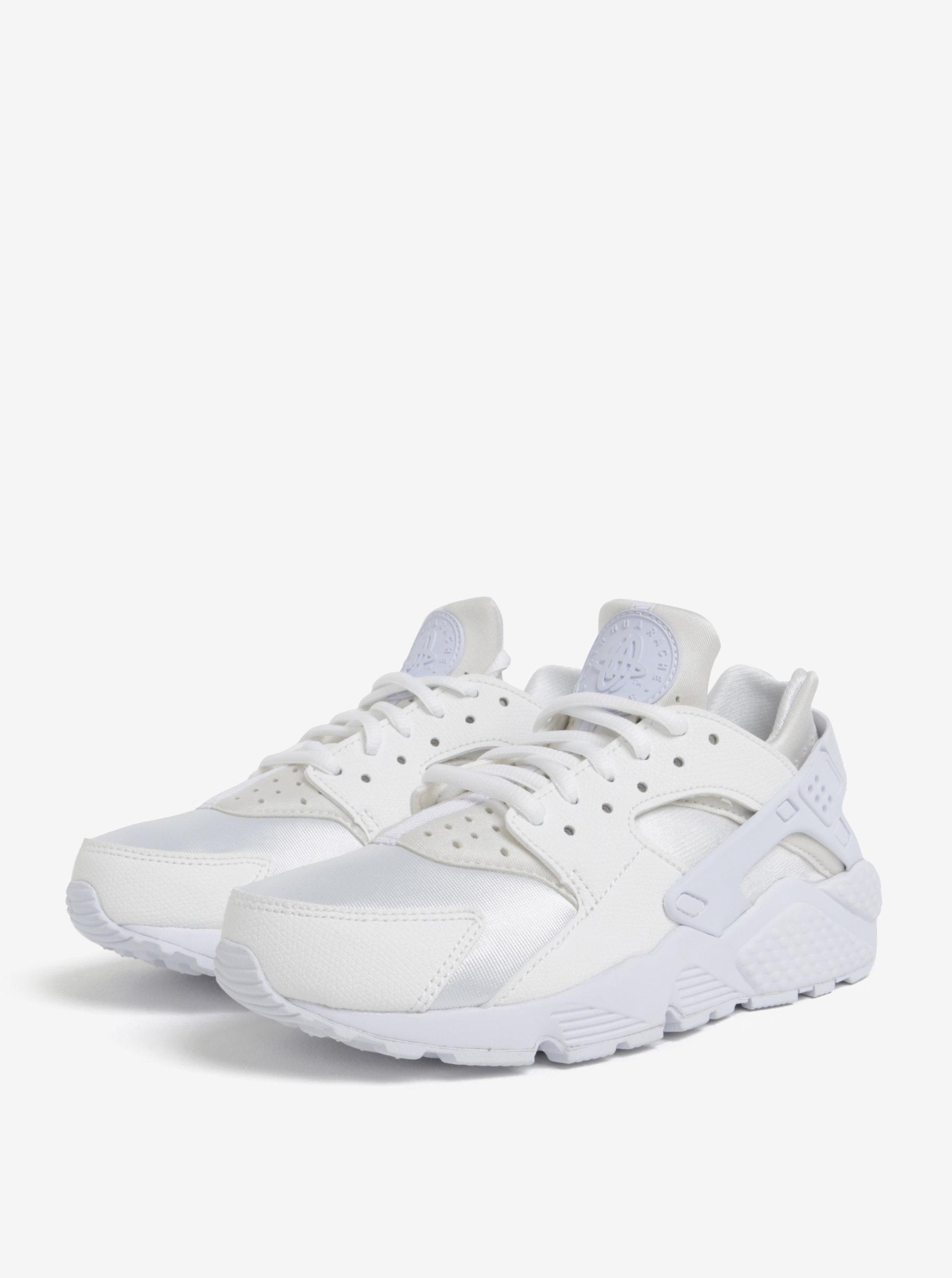Biele dámske tenisky Nike Air Huarache Run ... 76f494f238