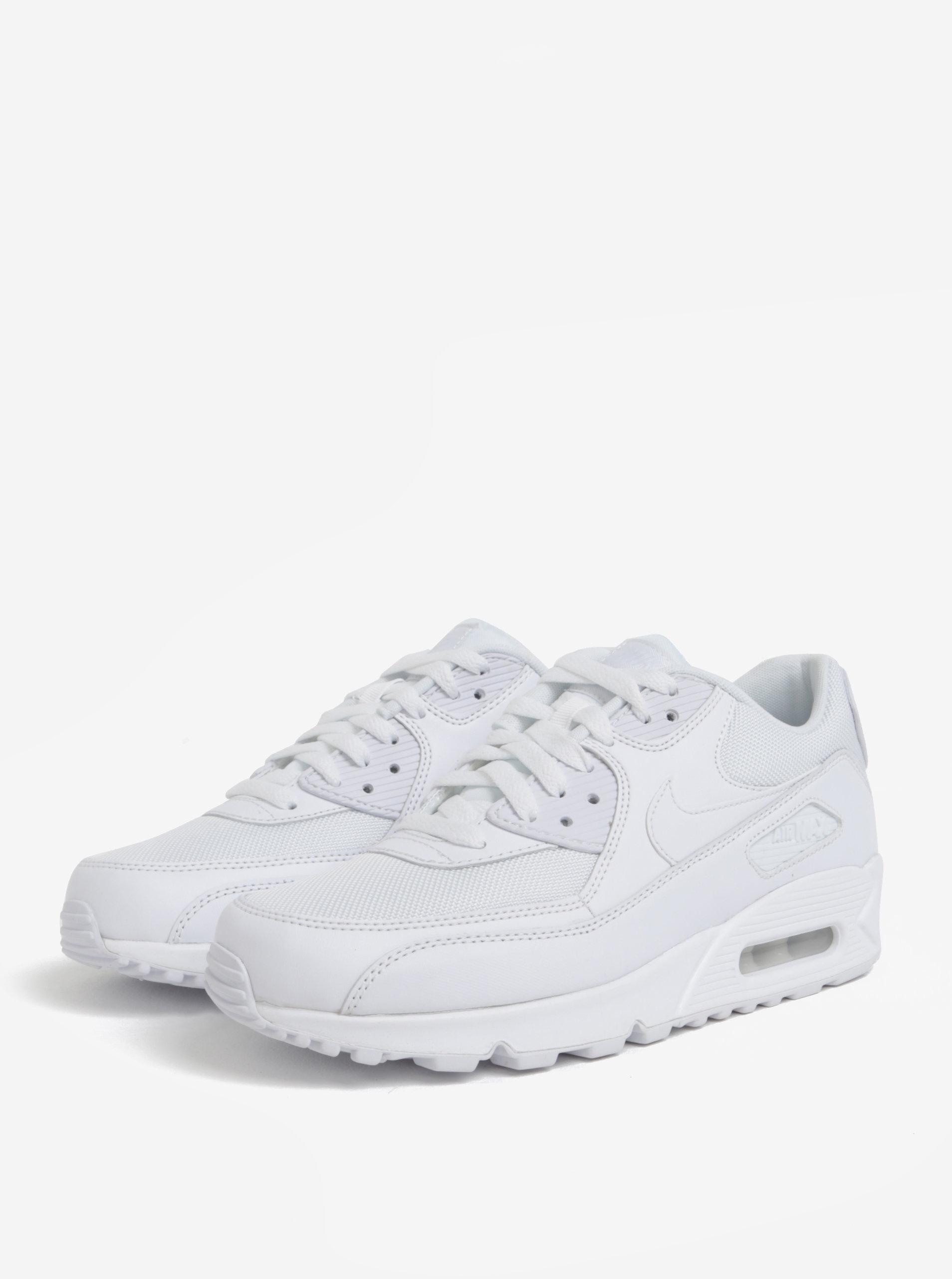 Biele pánske kožené tenisky Nike Air Max  90 Essential ... 9d635ebfe3