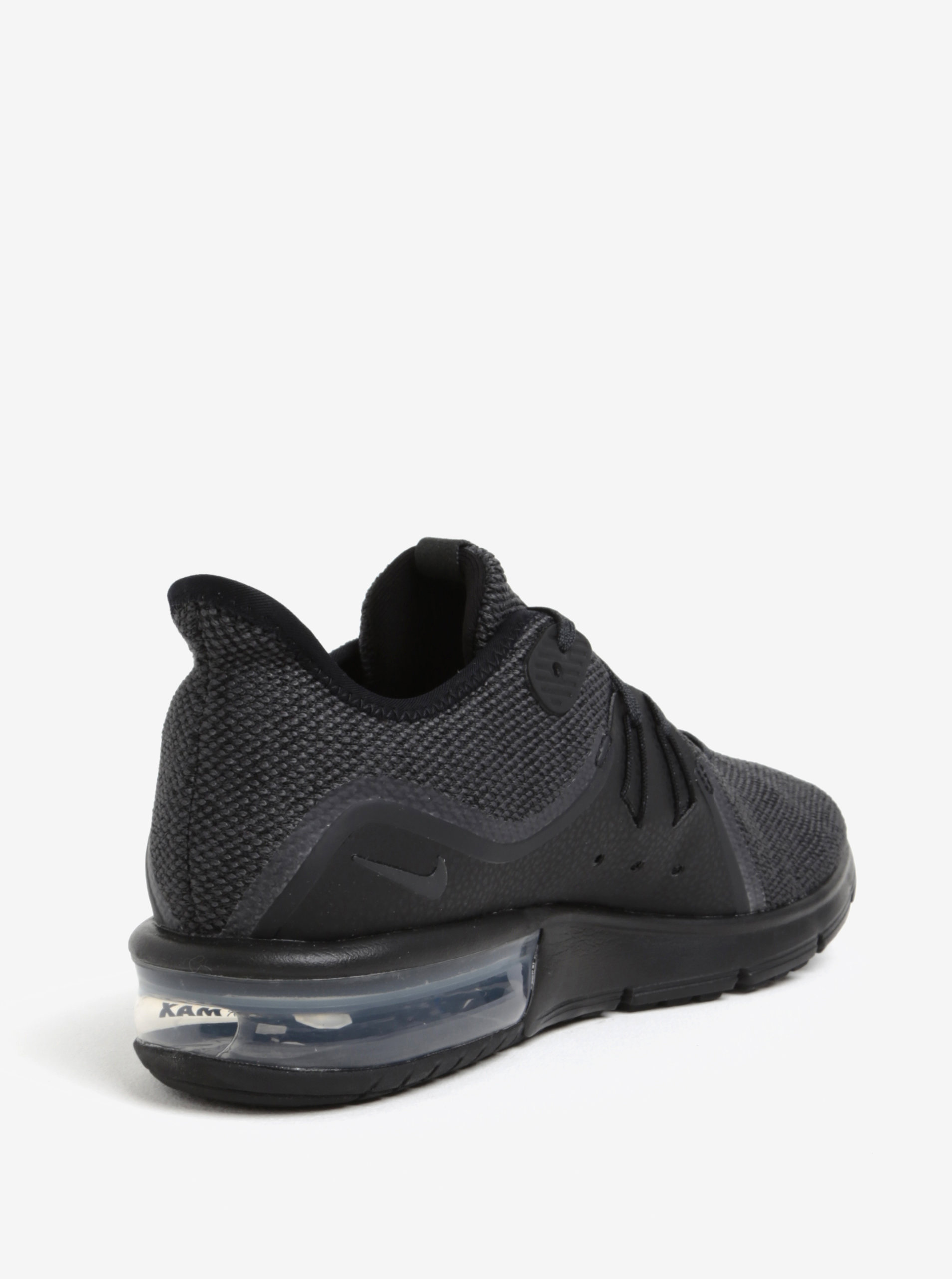 Čierne pánske tenisky Nike Air Max Sequent 3 Running Shoe ... 56c8f026085