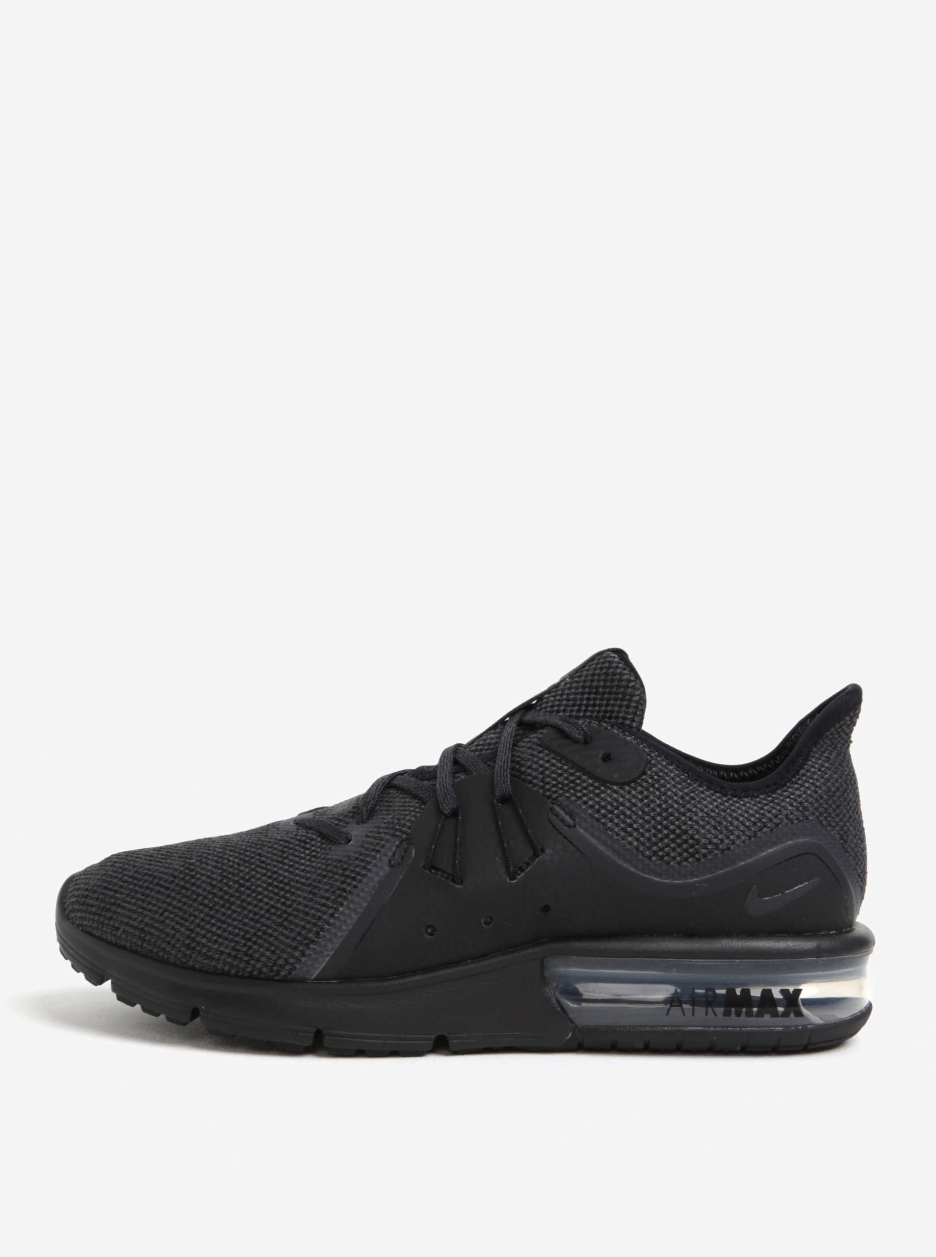 Černé pánské tenisky Nike Air Max Sequent 3 Running Shoe ... f33e0d5561
