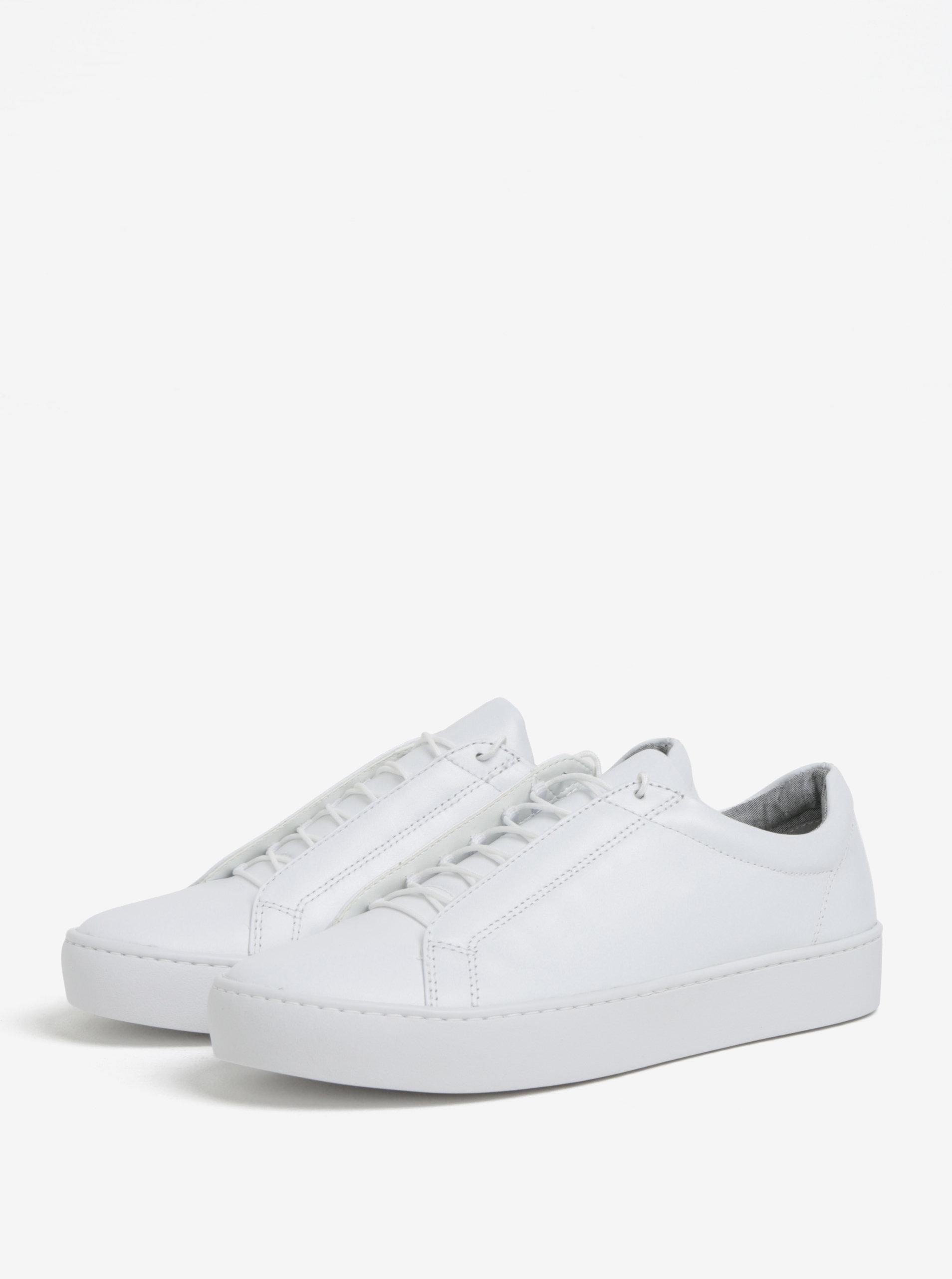 Biele dámske tenisky na platforme Vagabond Zoe ... 557679bee28