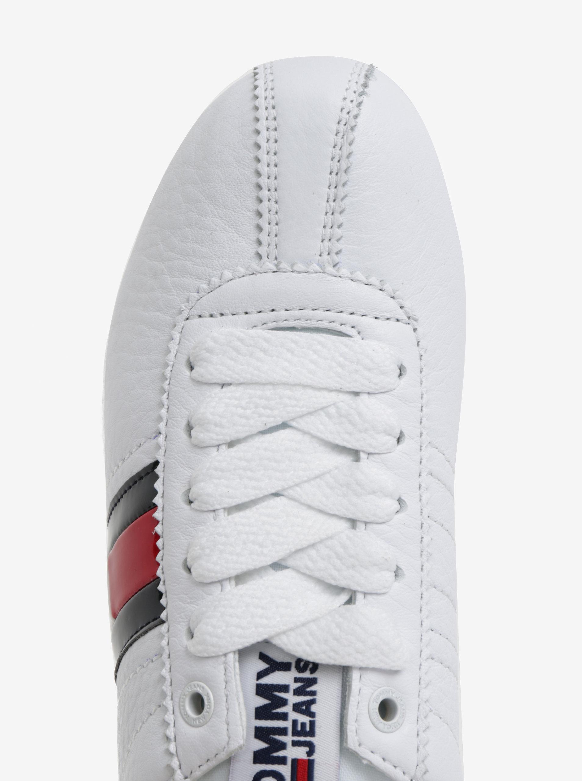 4a61ce2a7480d Biele dámske kožené tenisky Tommy Hilfiger | ZOOT.sk
